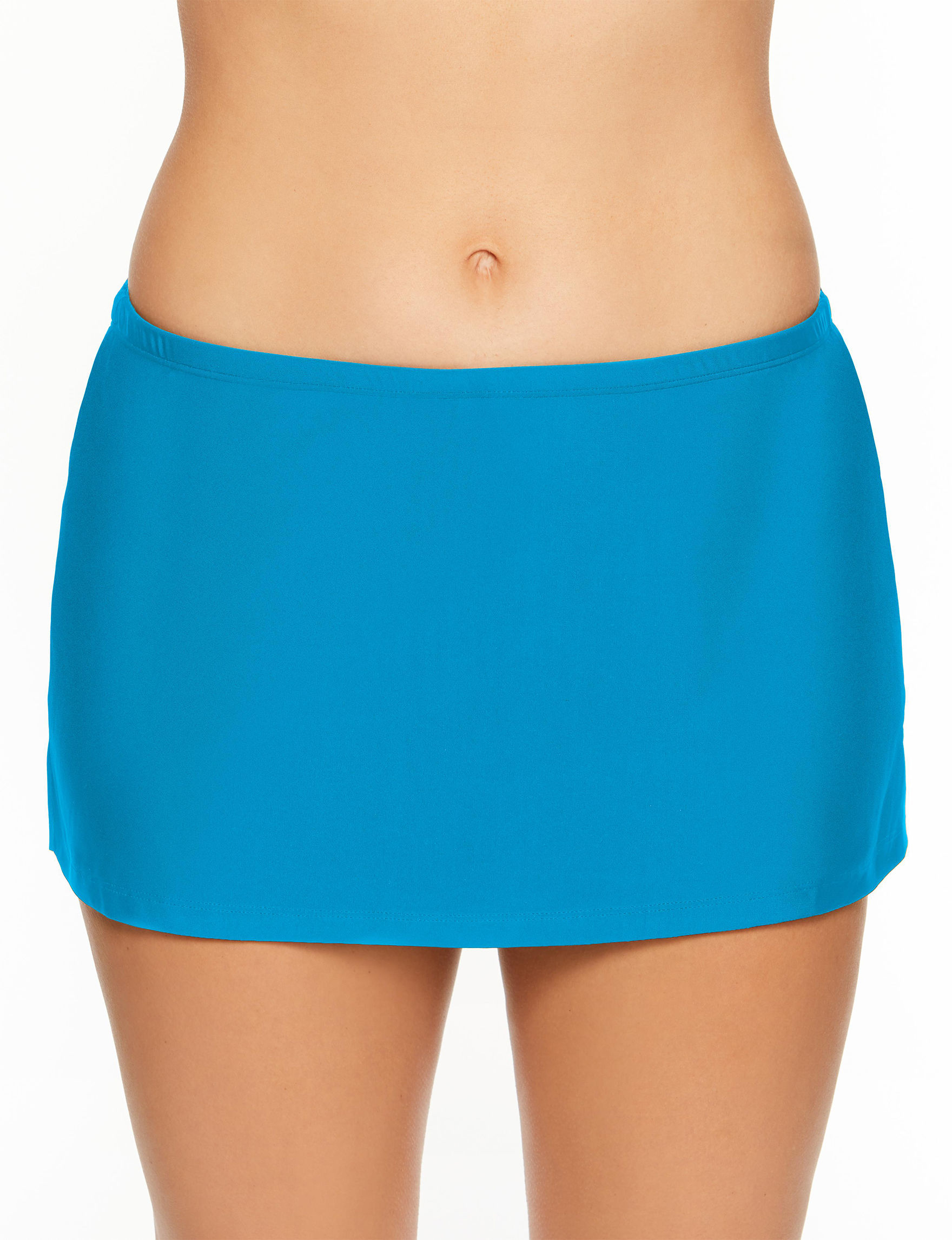 Aqua Couture Blue Swimsuit Bottoms Skirtini
