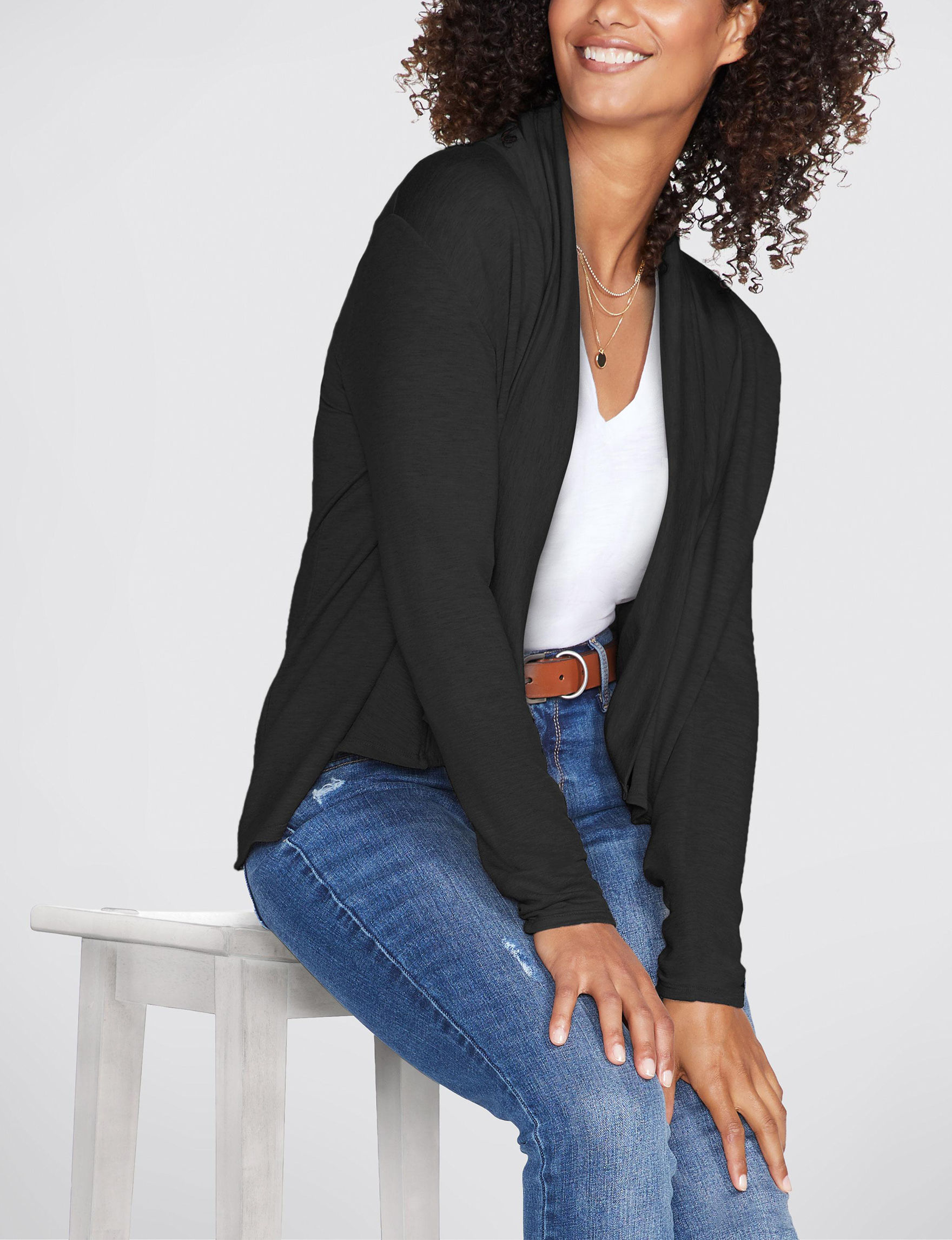 Skechers Black Active Cardigans