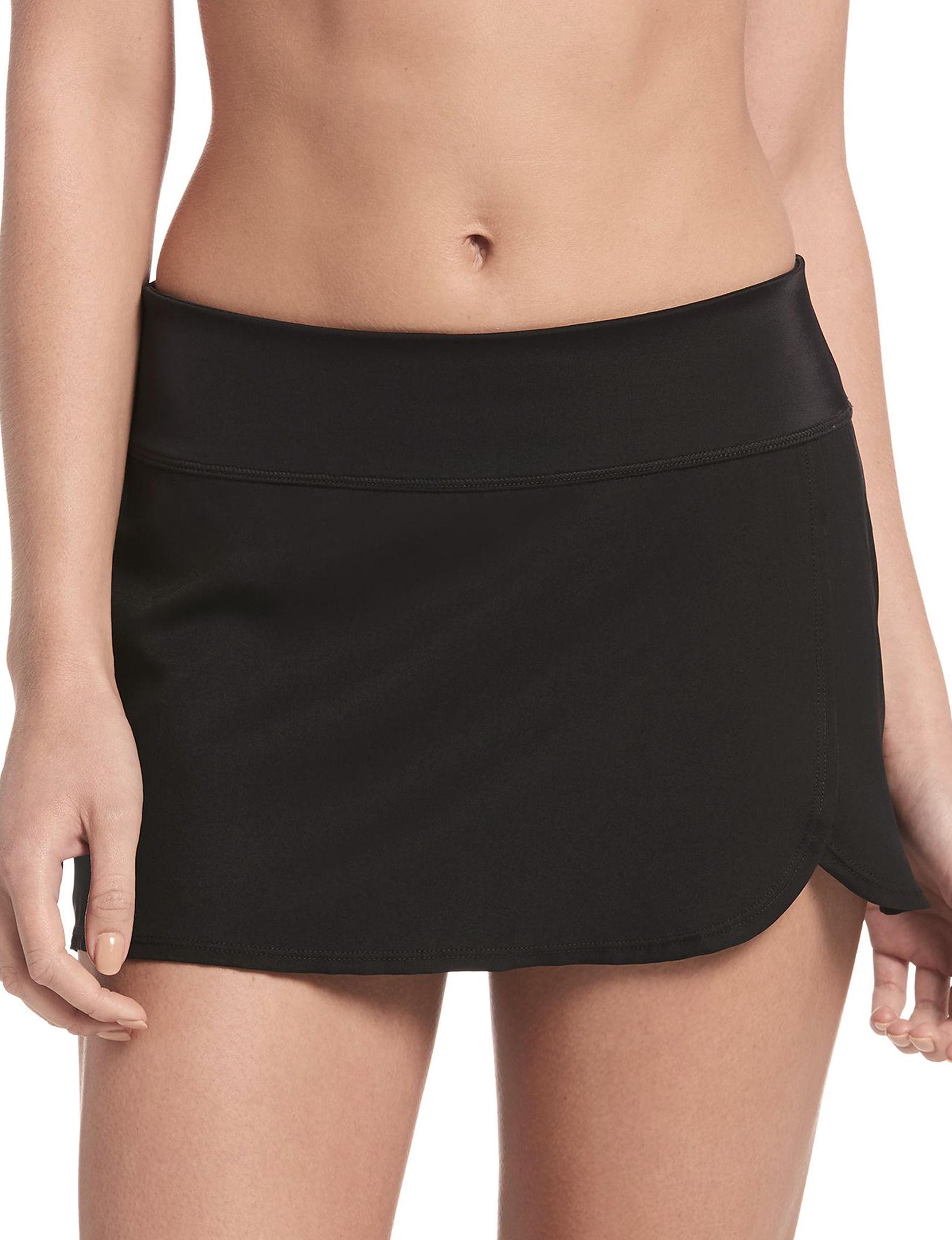 Nike Black Swimsuit Bottoms Skirtini