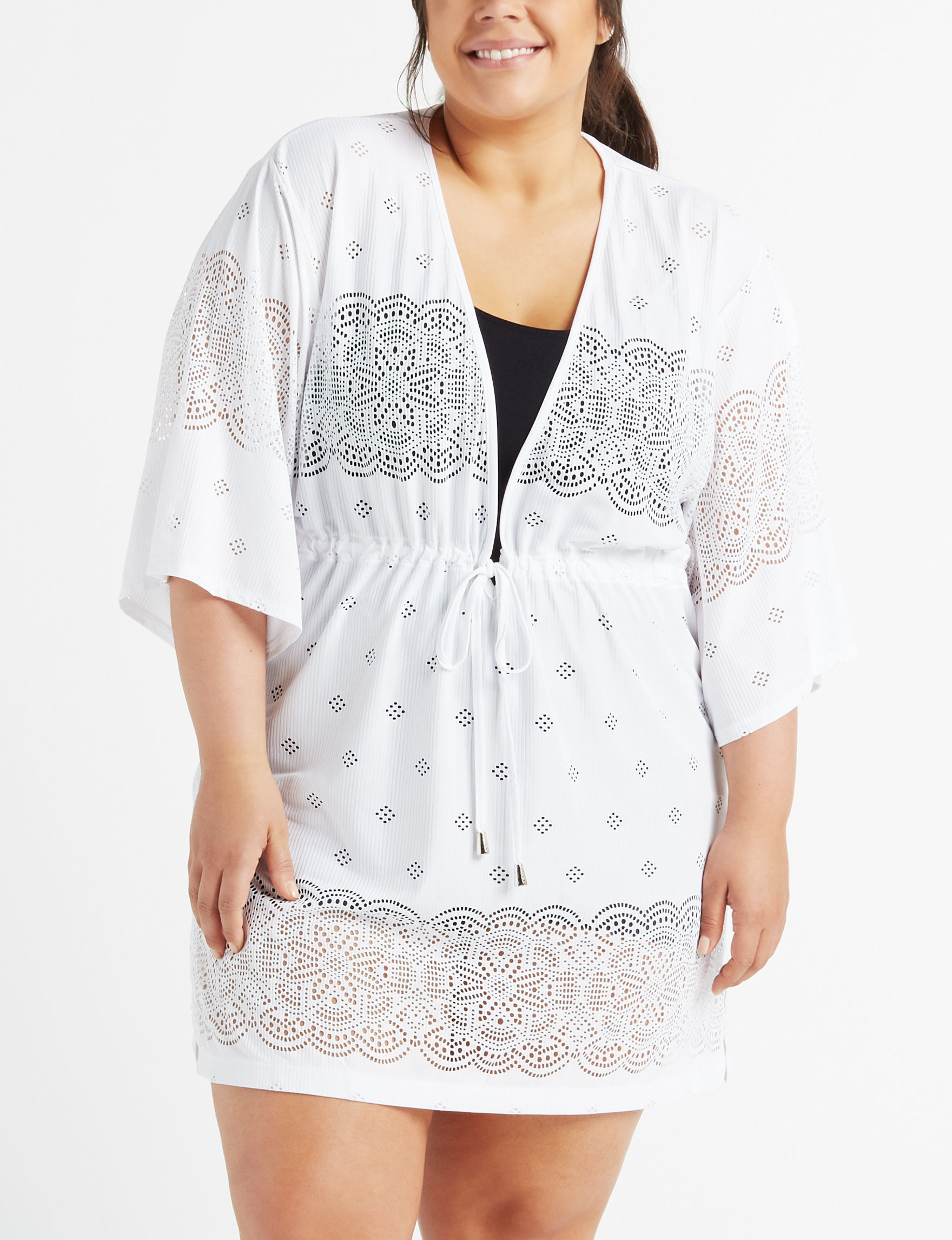 Wearbout White Cover-Ups