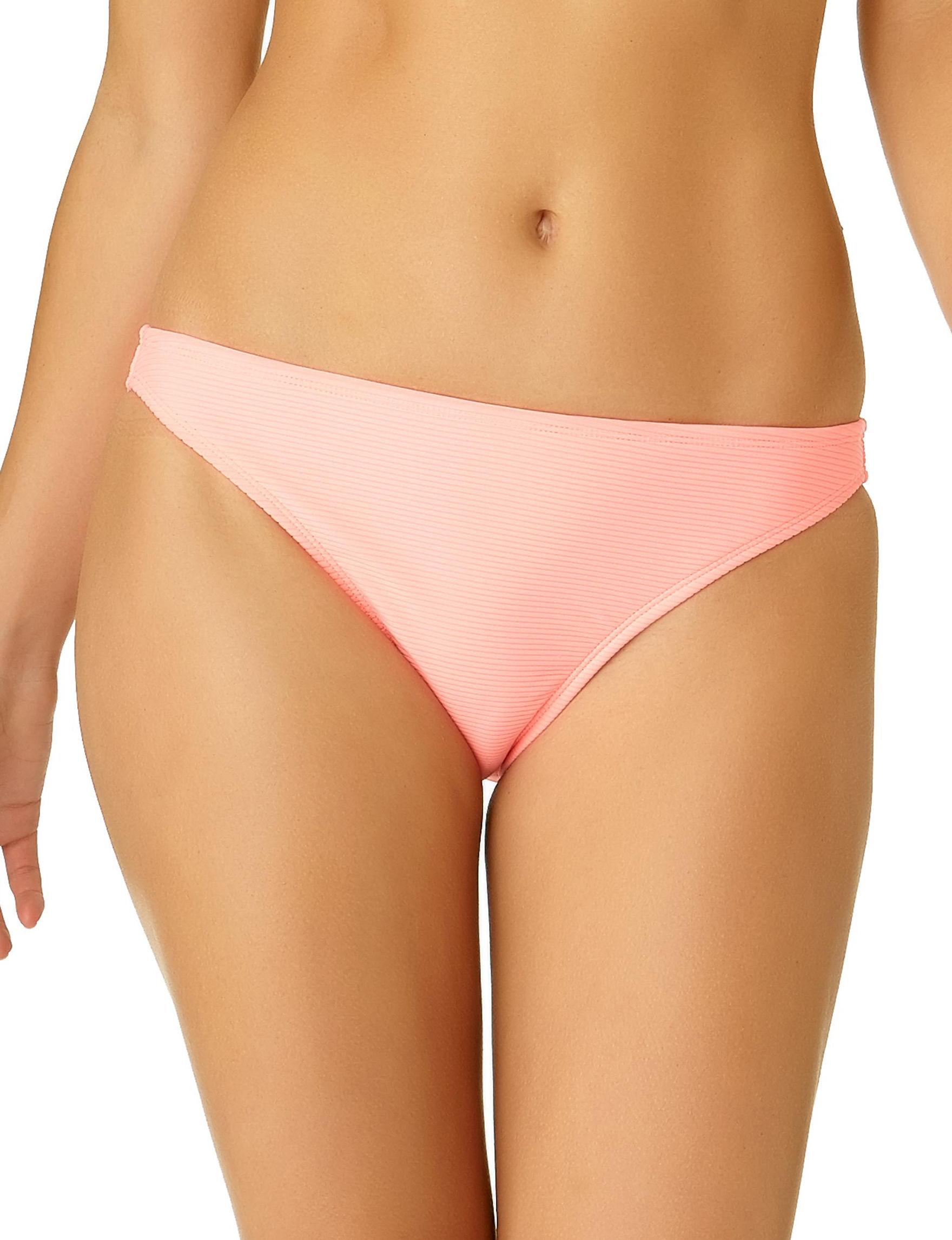 California Sunshine Neon Pink Swimsuit Bottoms Hipster