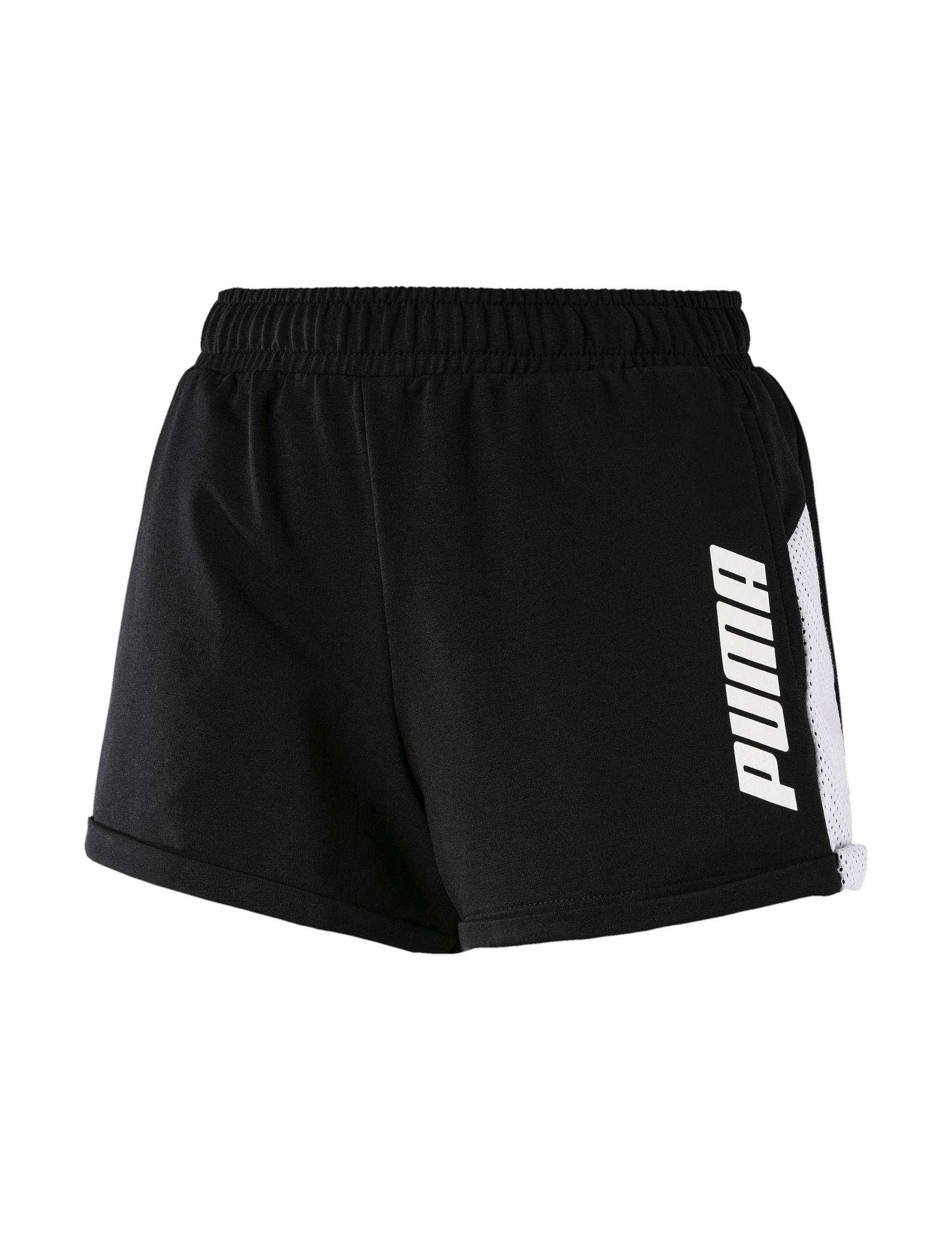 Puma Black Active Soft Shorts
