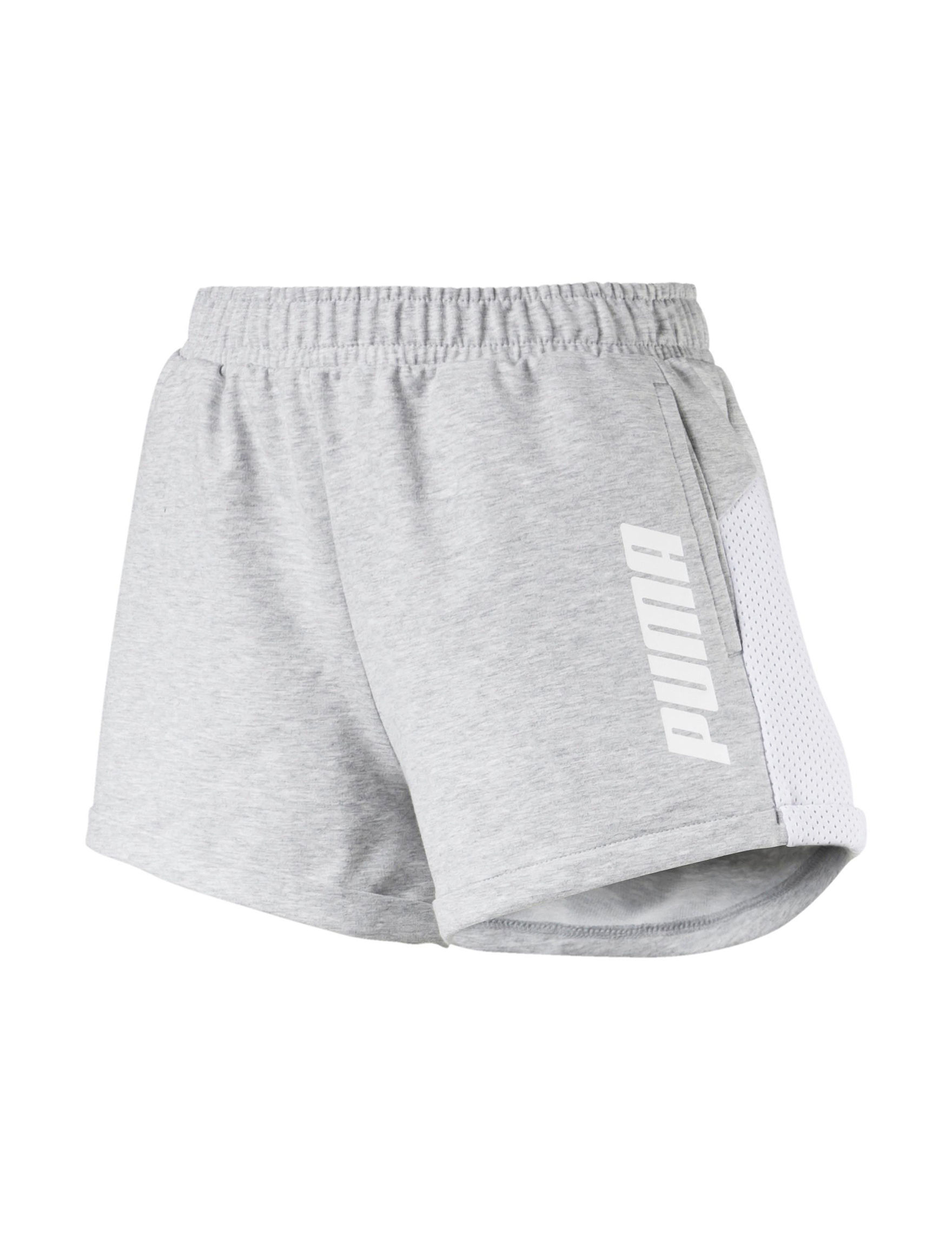 Puma Grey Active Soft Shorts
