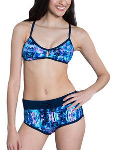 Dolfin Blue Multi Swimsuit Bottoms Boyshort