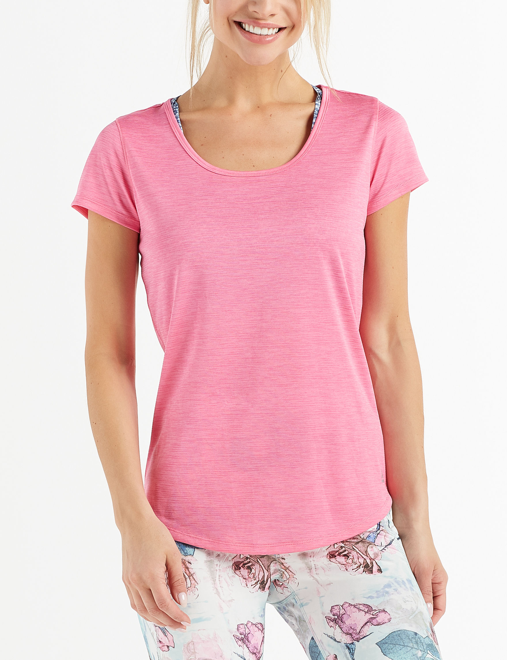 RBX Fuschia Active Tees & Tanks