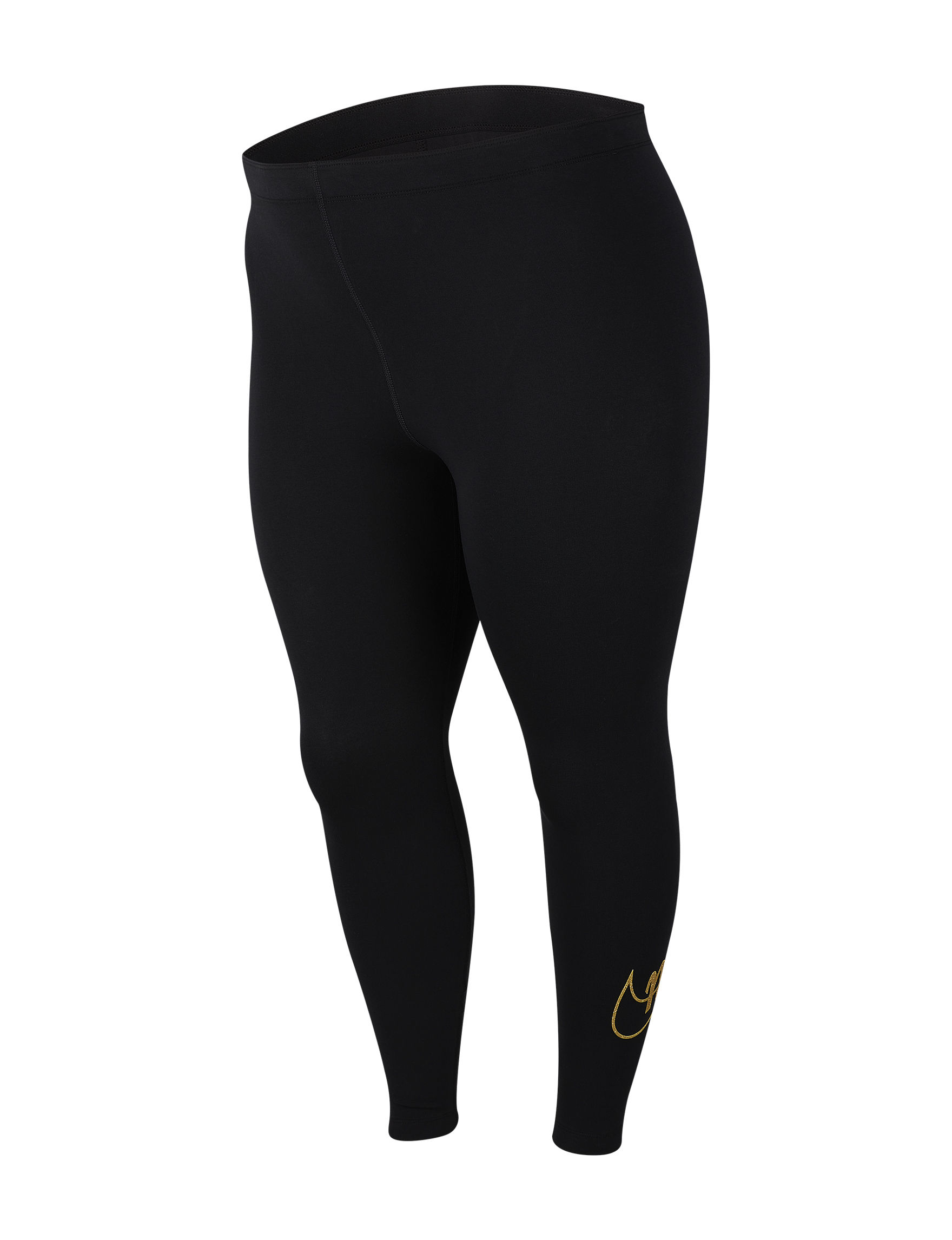 Nike Black / Gold Active Leggings