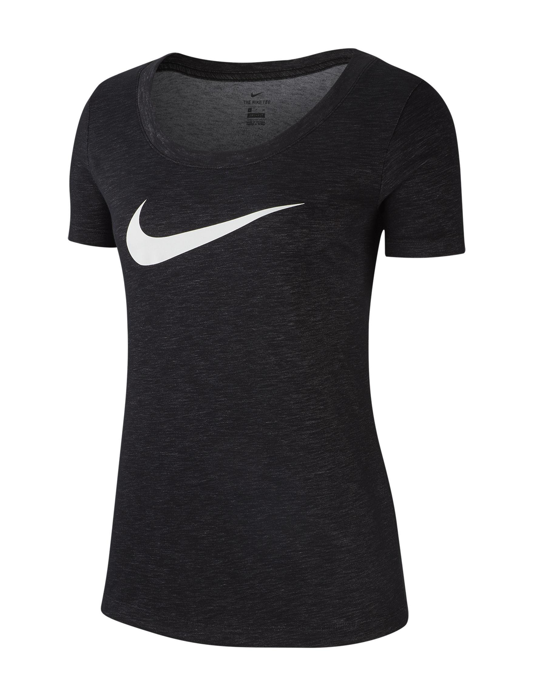 Nike Black Active Tees & Tanks