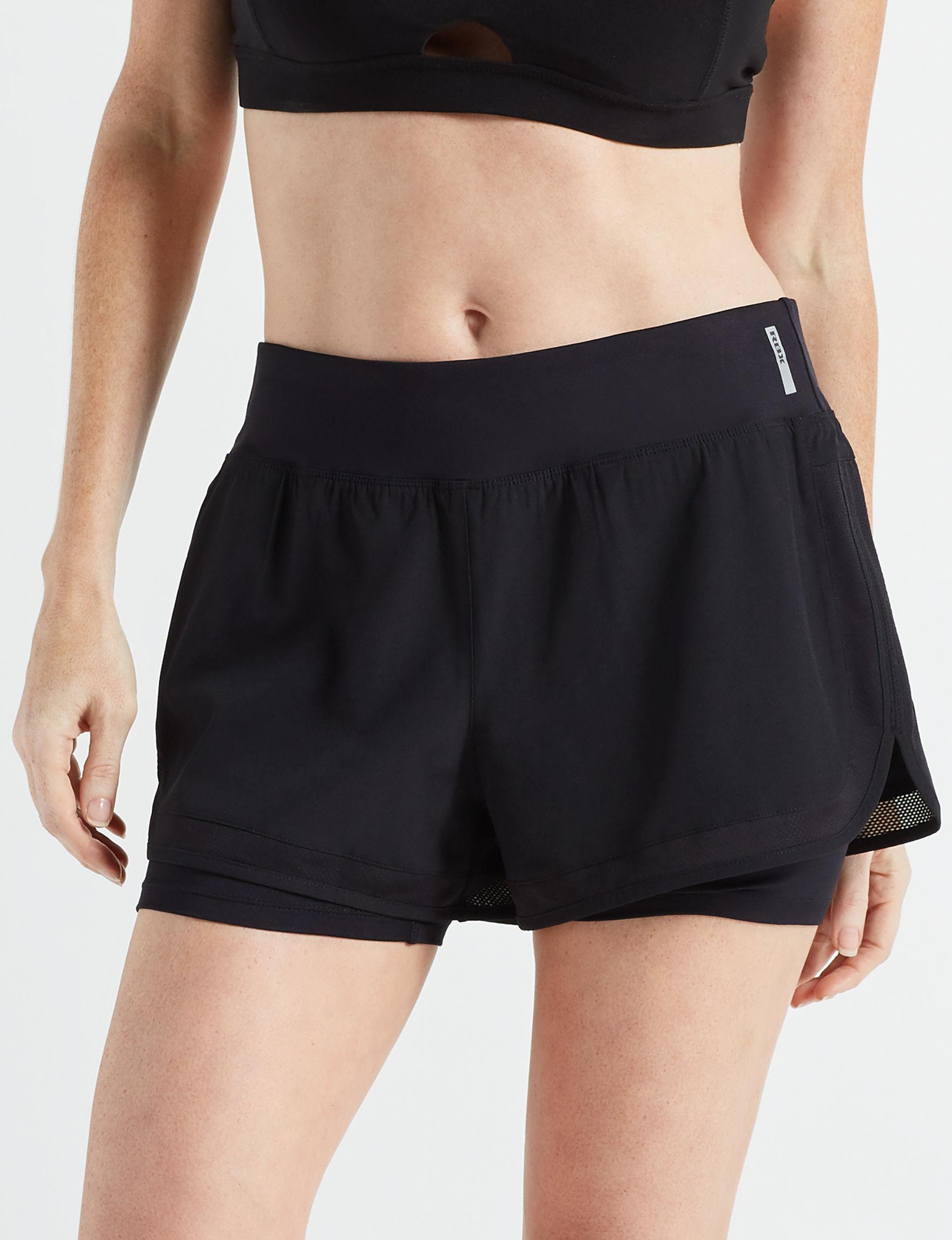 RBX Black Active Soft Shorts