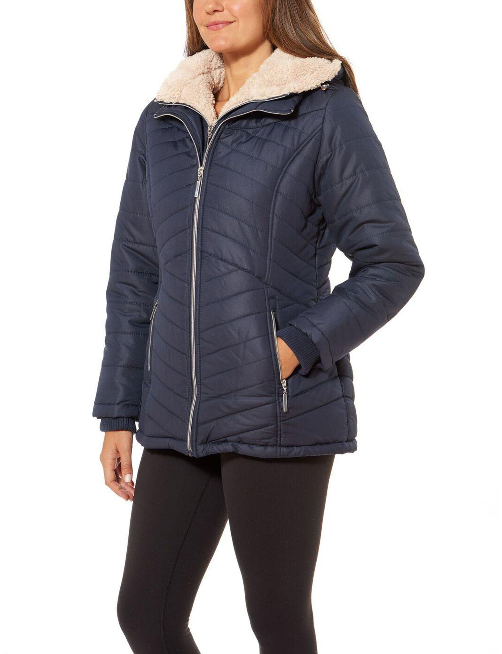 Details Stormy Night Puffer & Quilted Jackets