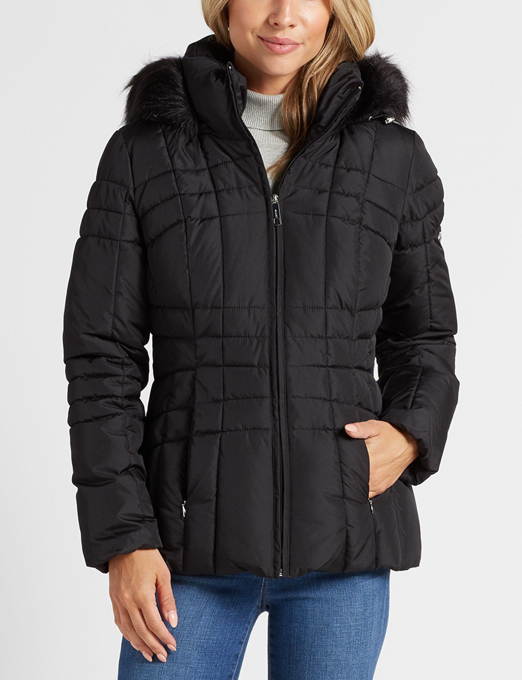 Calvin Klein Black Lightweight Jackets & Blazers Puffer & Quilted Jackets