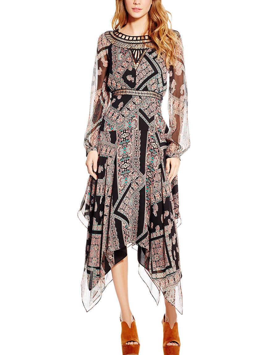 Jessica Simpson Black Cocktail & Party Sundresses