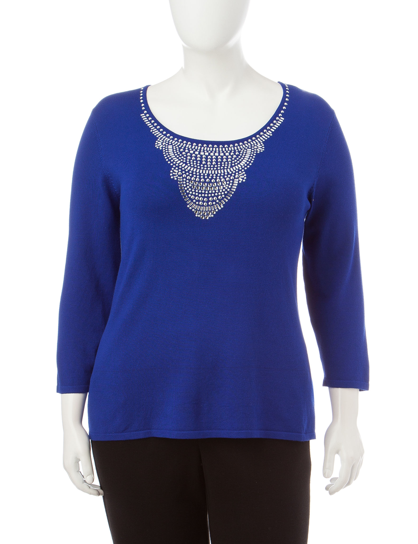 Ruby Road Cobalt Pull-overs