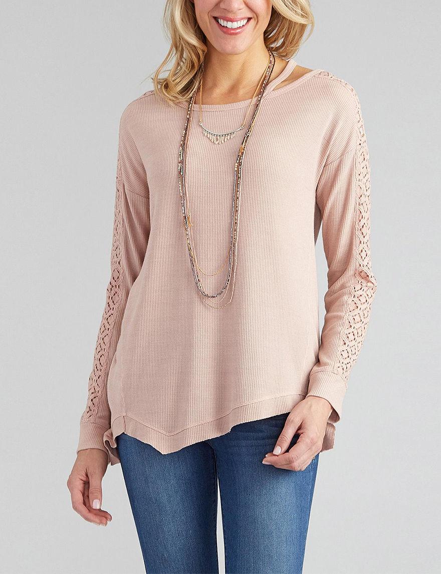 Democracy Pink Multi Shirts & Blouses