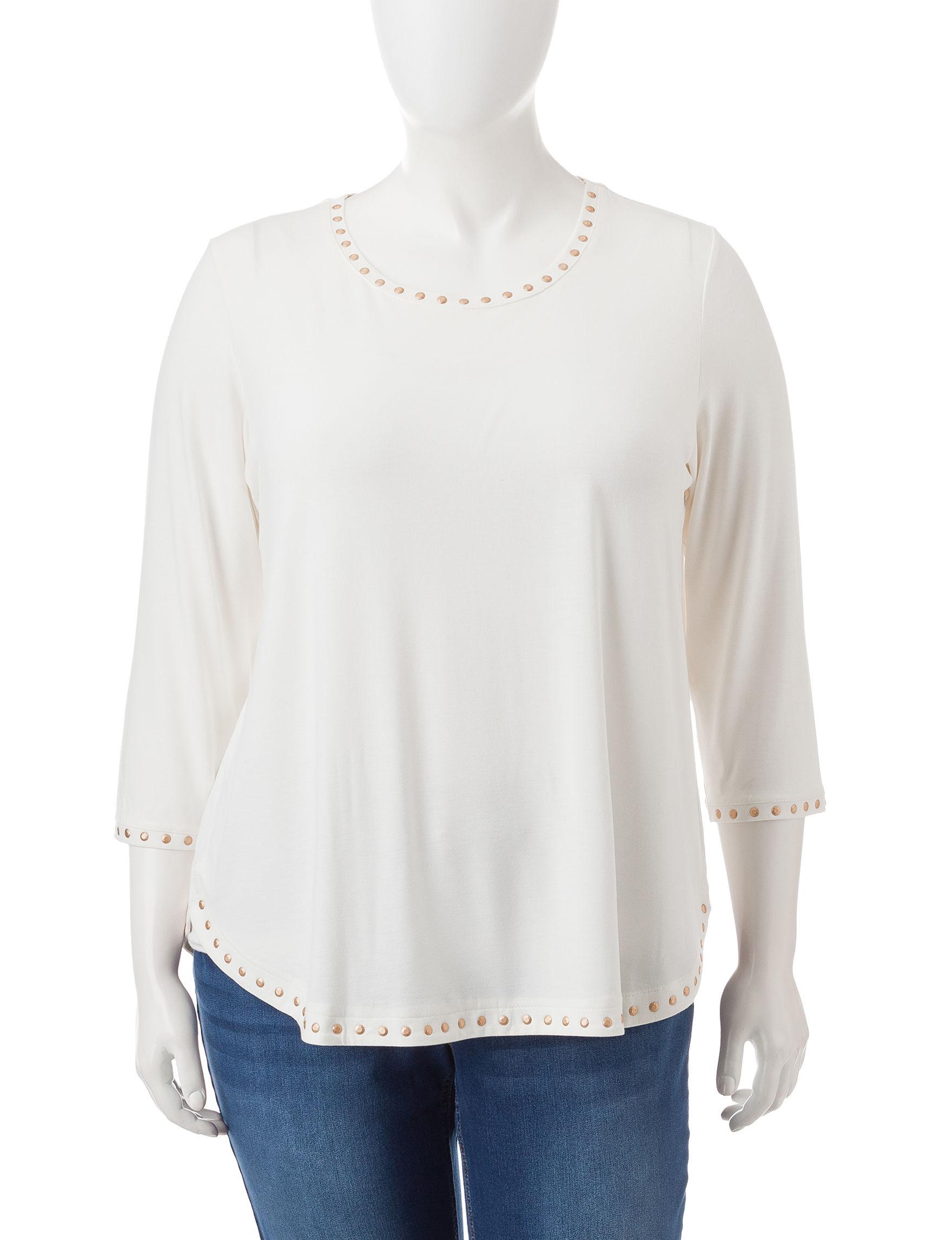 Ruby Road Vanilla Shirts & Blouses