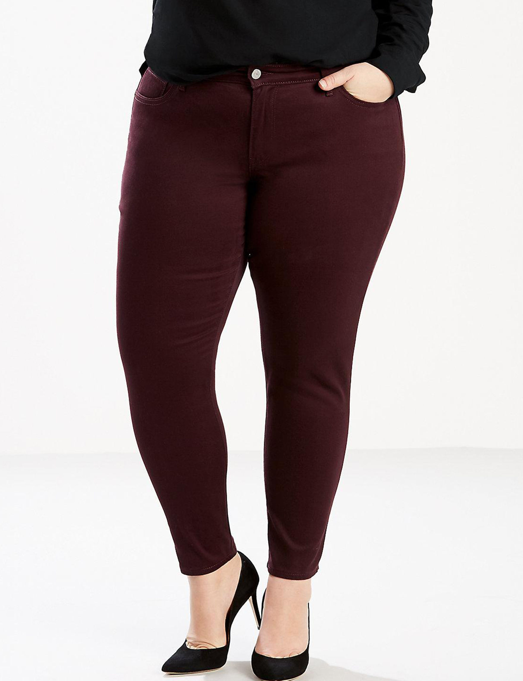 Levi's Red Wine Skinny