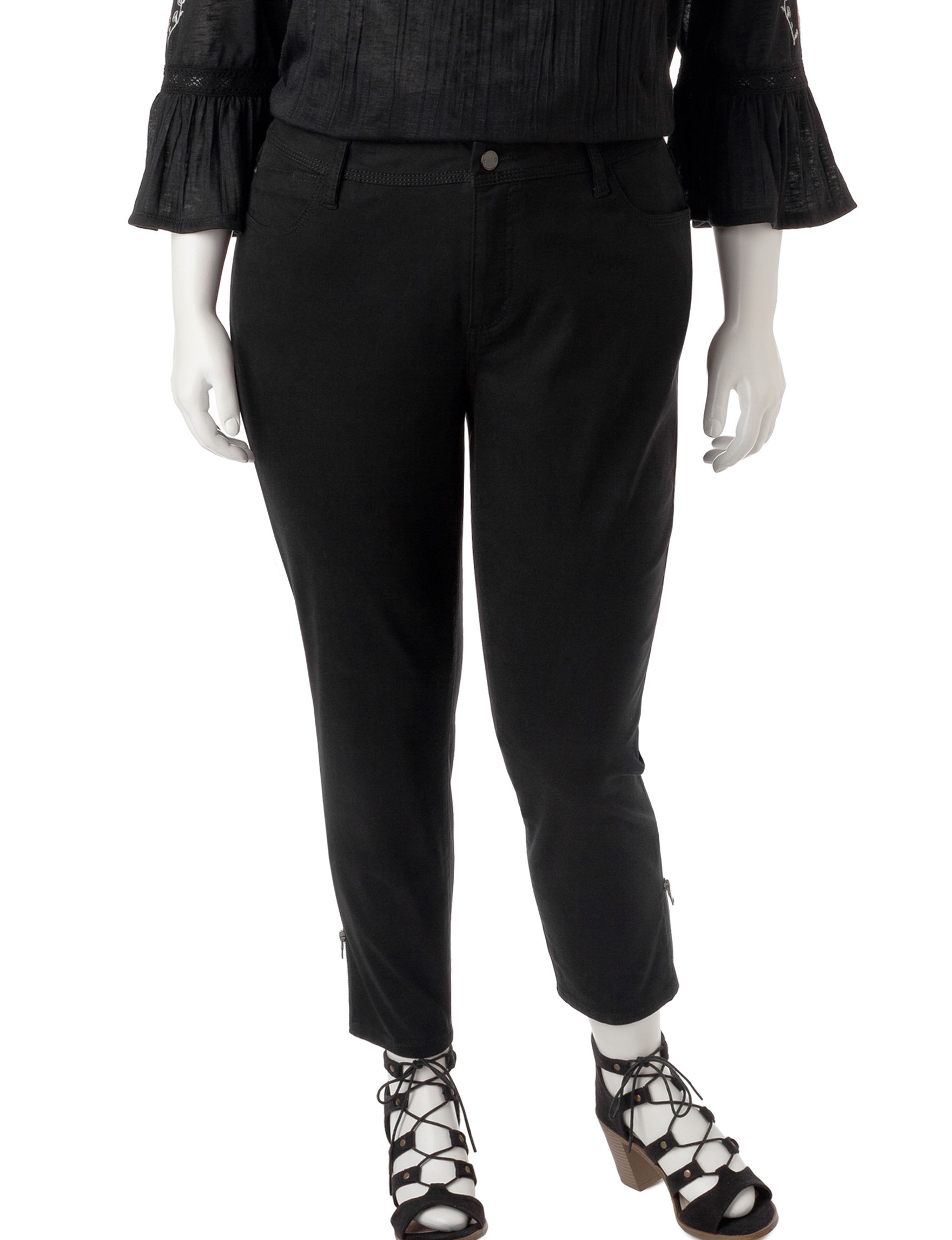 Signature Studio Black Jeggings