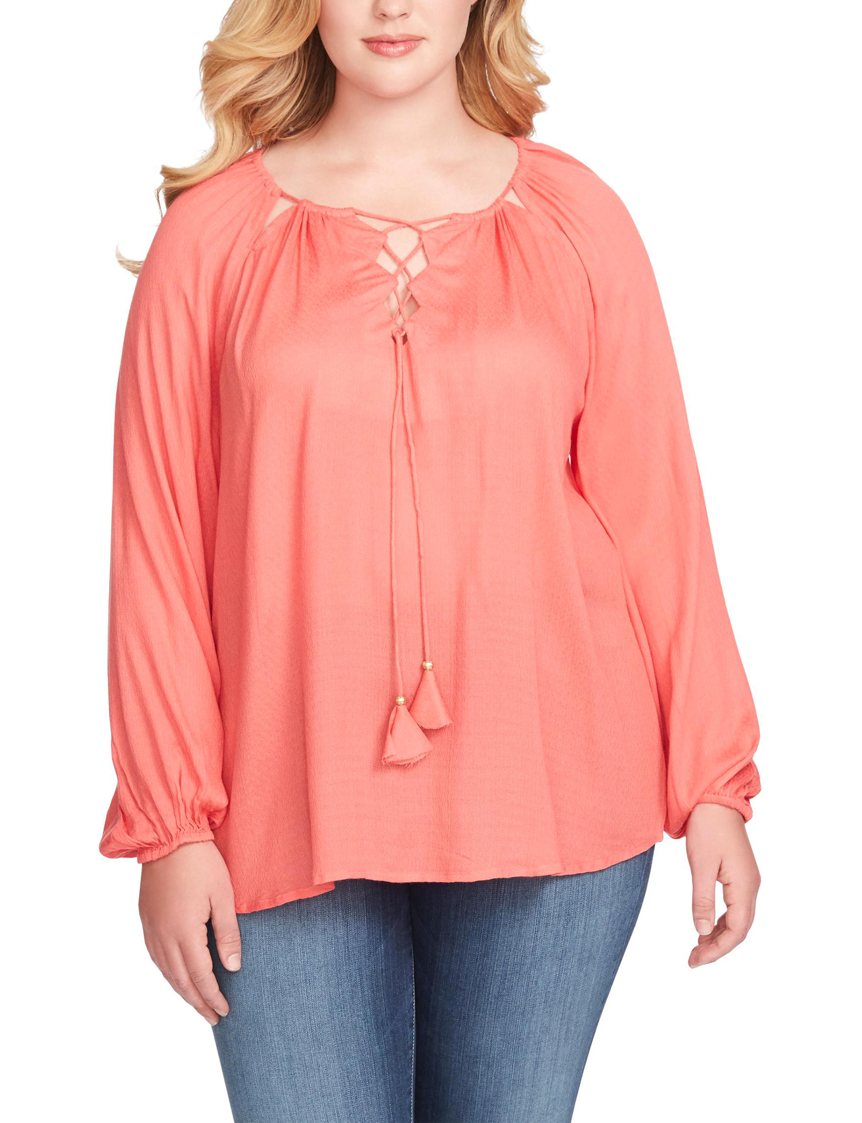 Jessica Simpson Coral Shirts & Blouses
