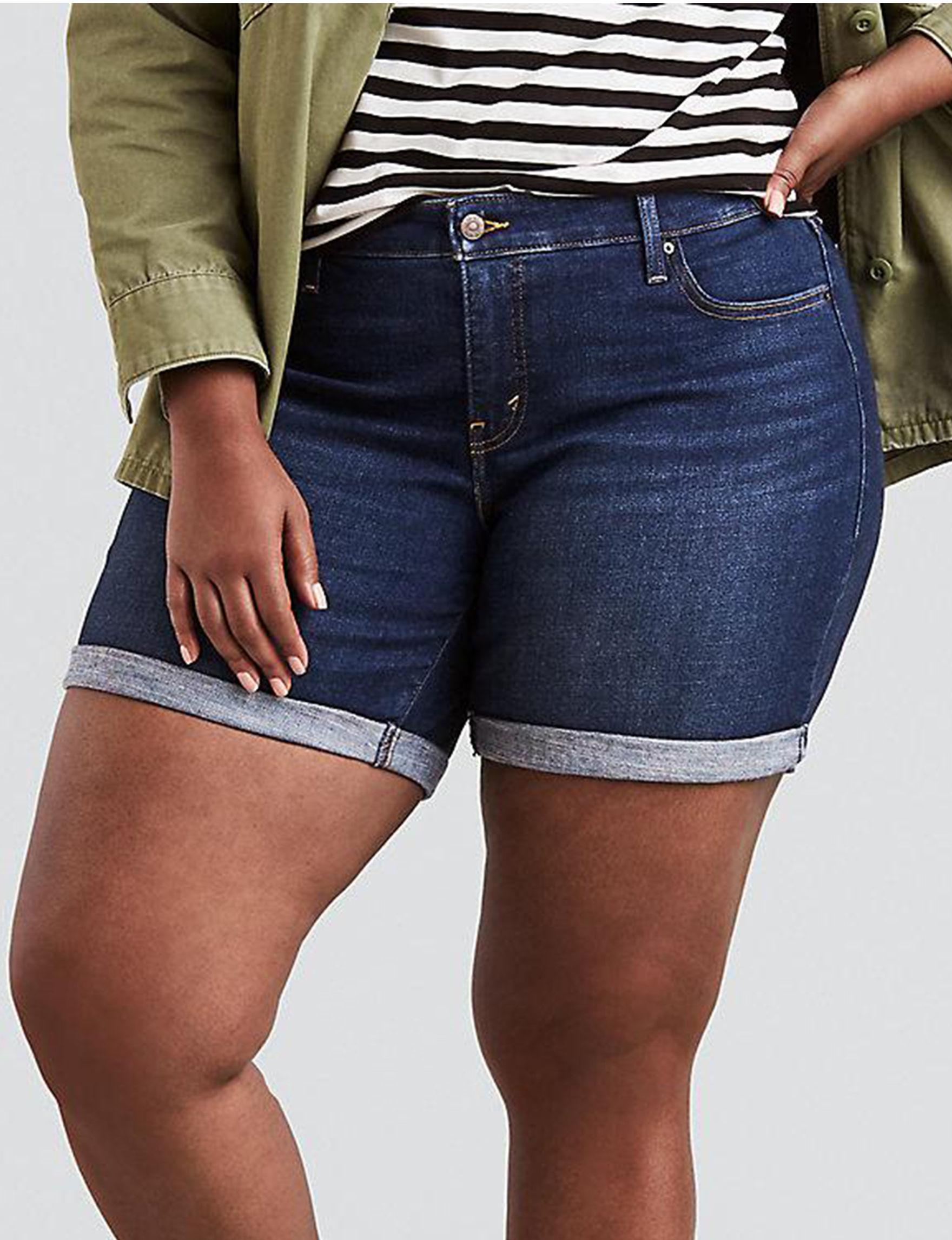 Levi's Blue Denim Shorts Straight