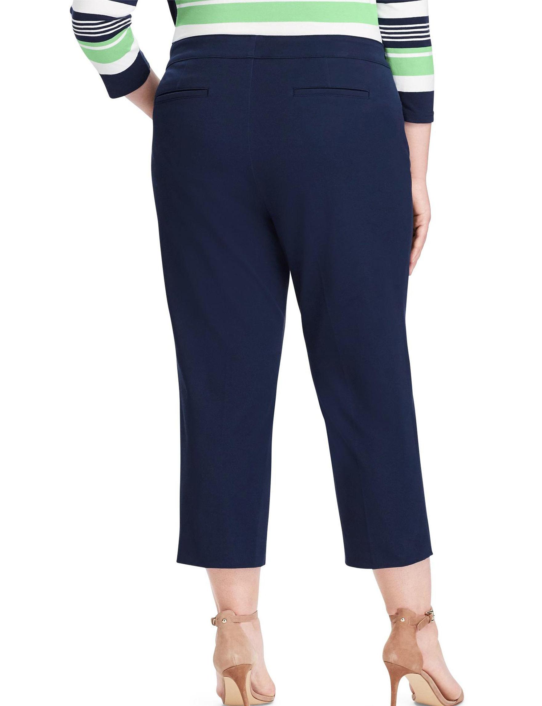 60feb4afef75a Chaps Plus-size Stretch Twill Capri Pants