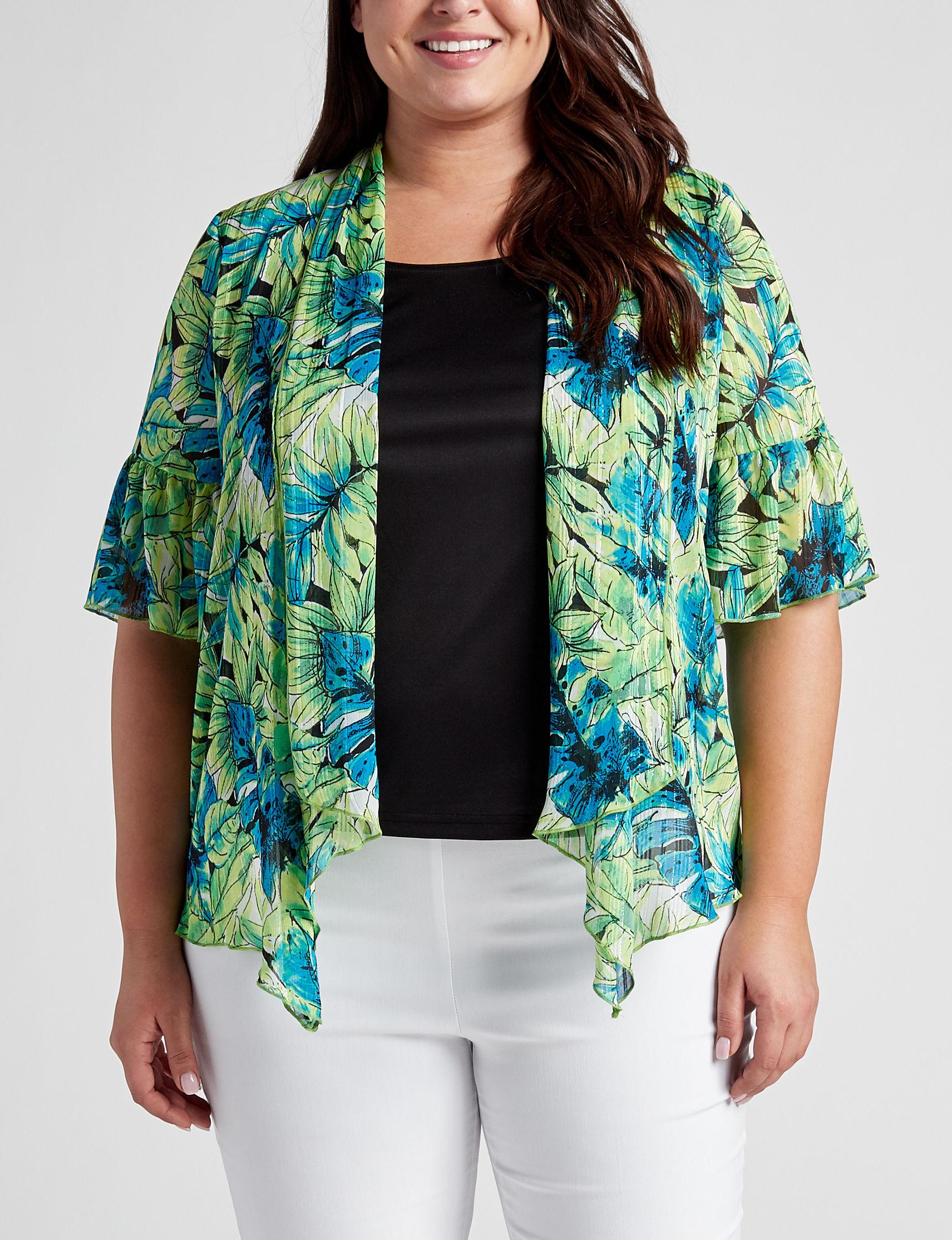 Sara Michelle Green / Black Shirts & Blouses