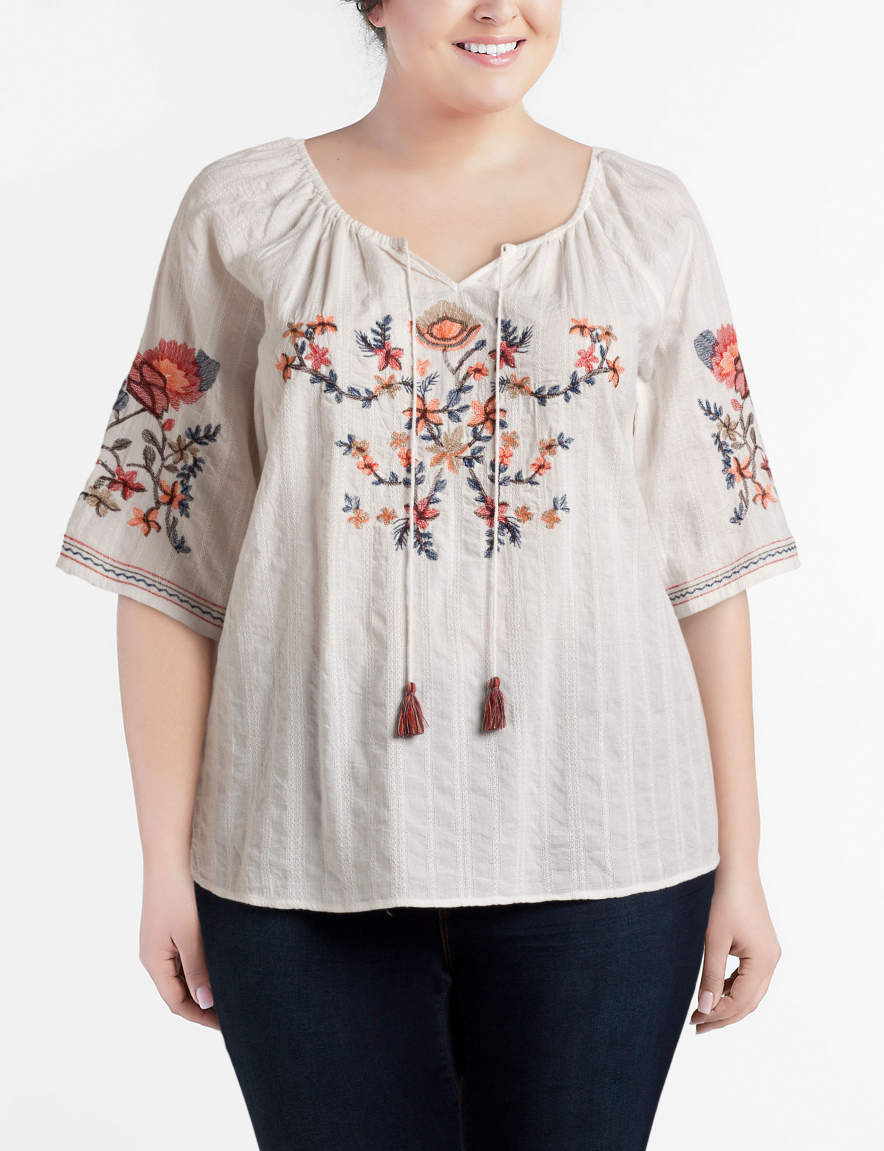 Hannah Natural Shirts & Blouses