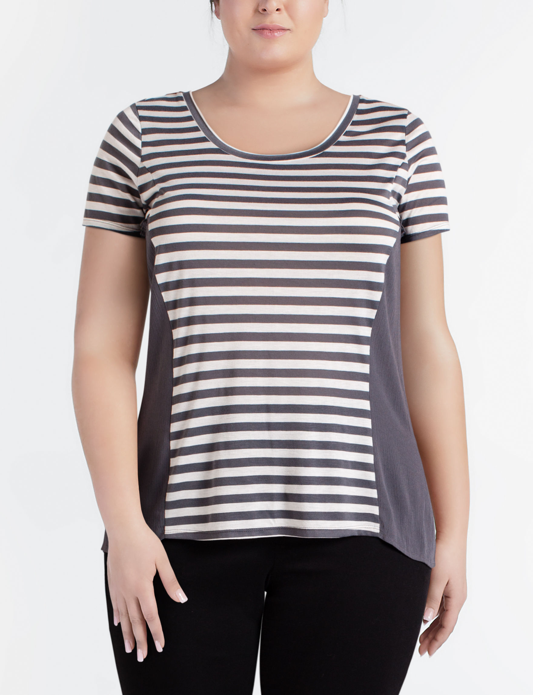 Hannah Grey / White Shirts & Blouses