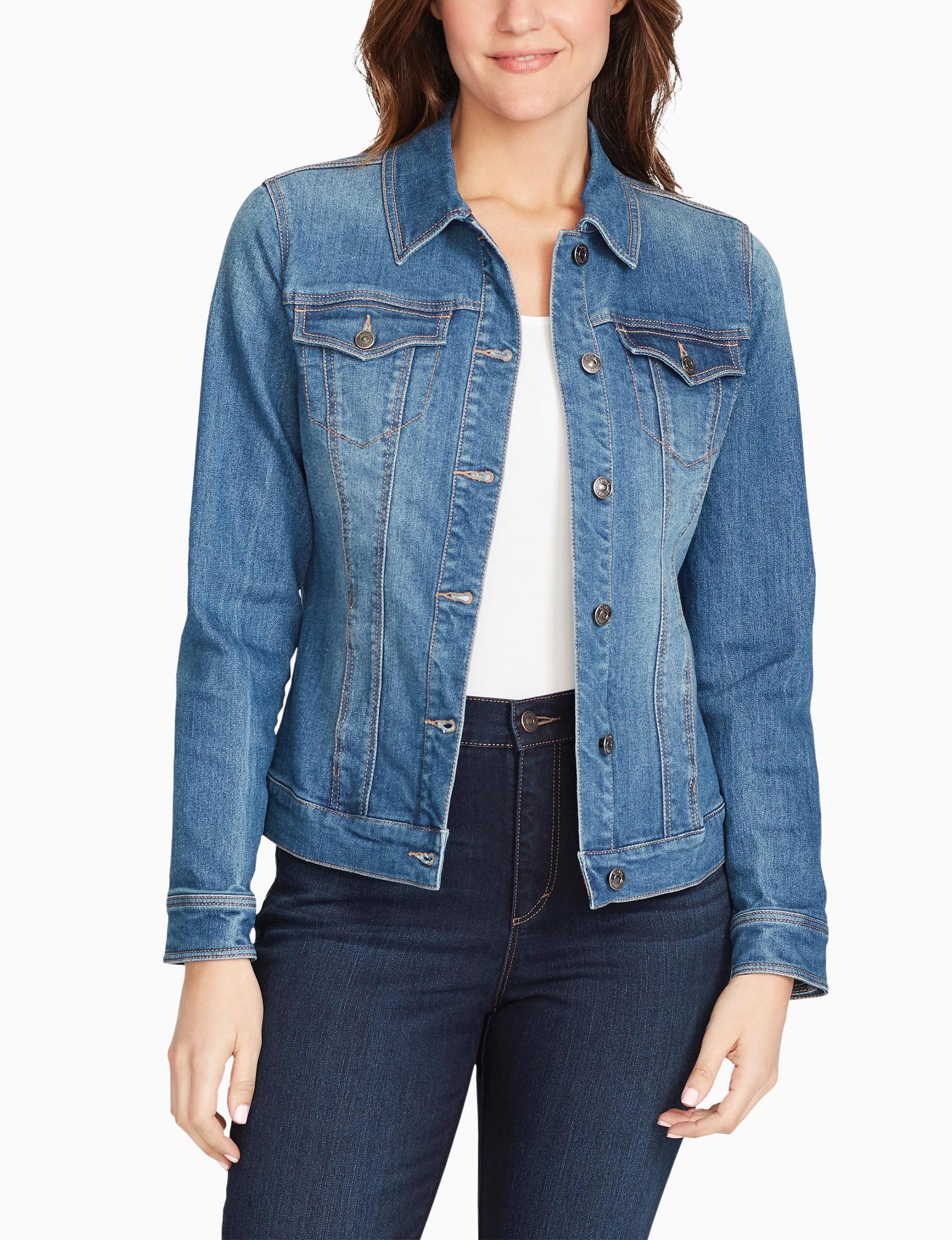 Gloria Vanderbilt Plus-size Ellie Denim Jacket | Stage Stores