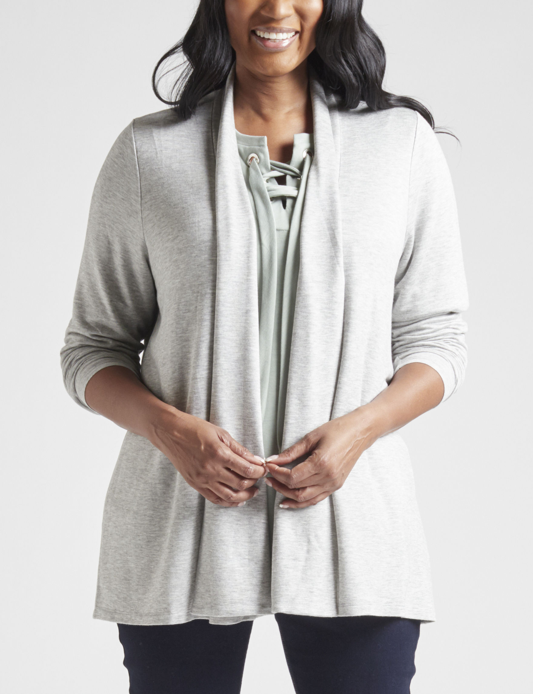 Signature Studio Grey Cardigans