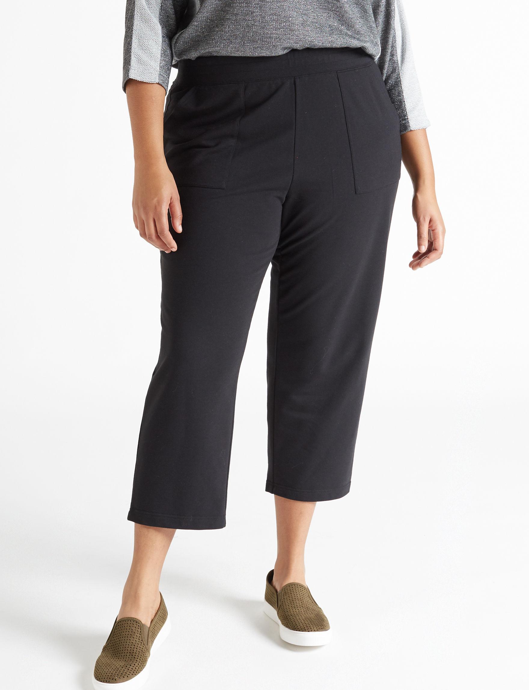 Cathy Daniels Black Soft Pants