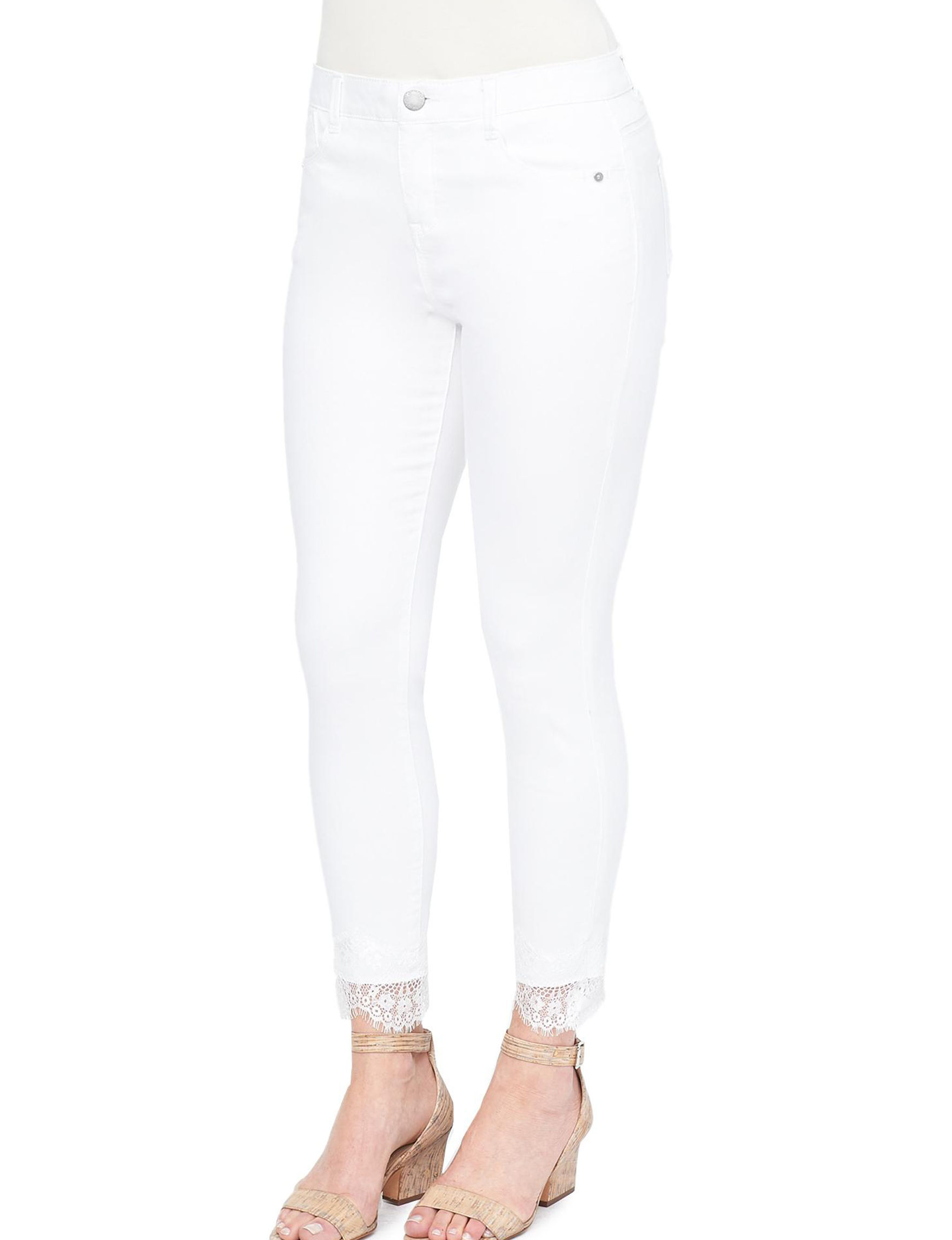 Democracy White Skinny