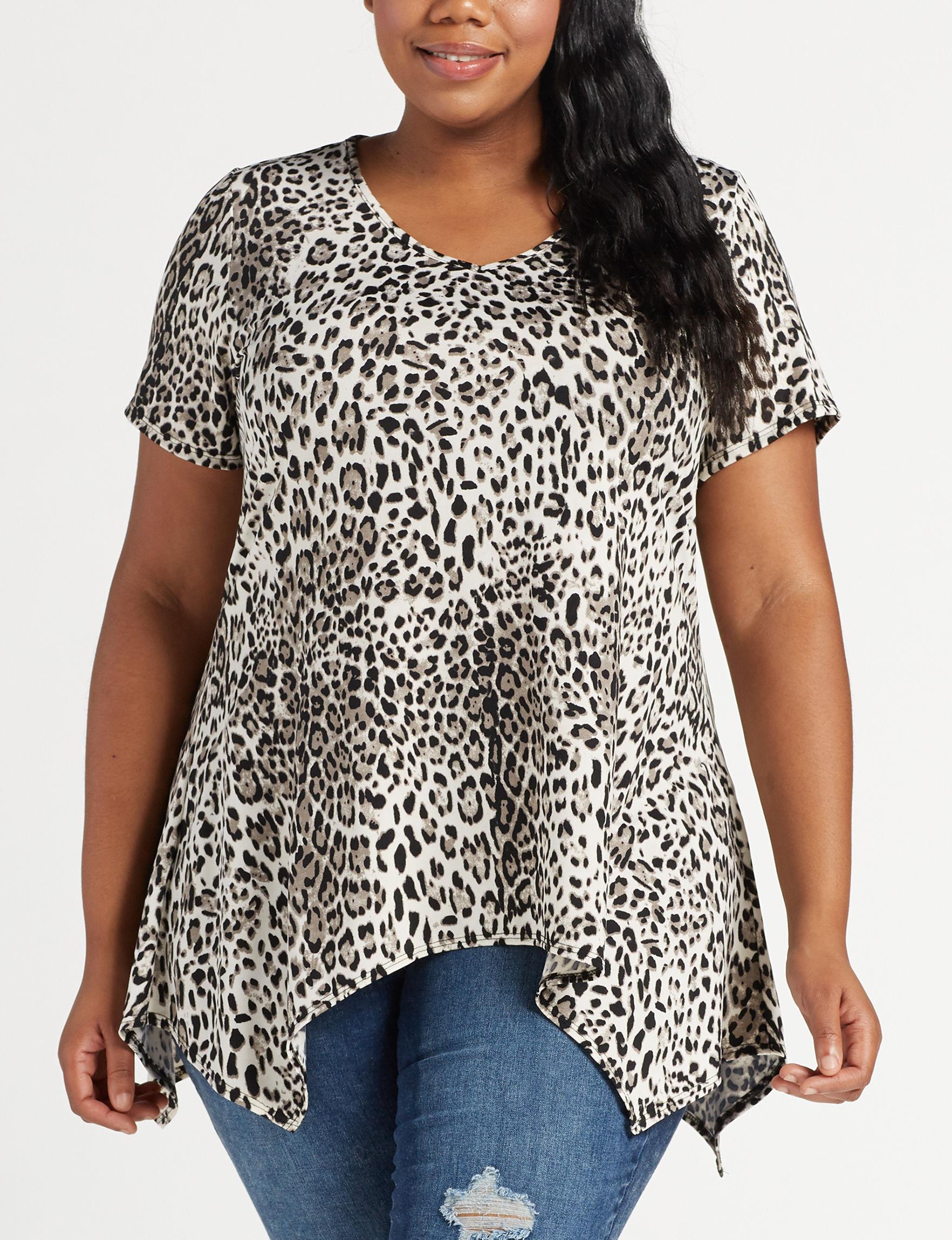 Cathy Daniels Grey Shirts & Blouses