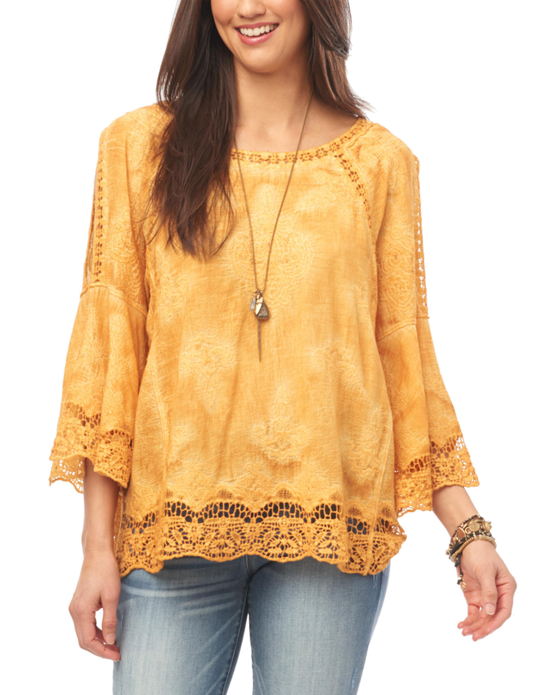 Democracy Sunflower Shirts & Blouses