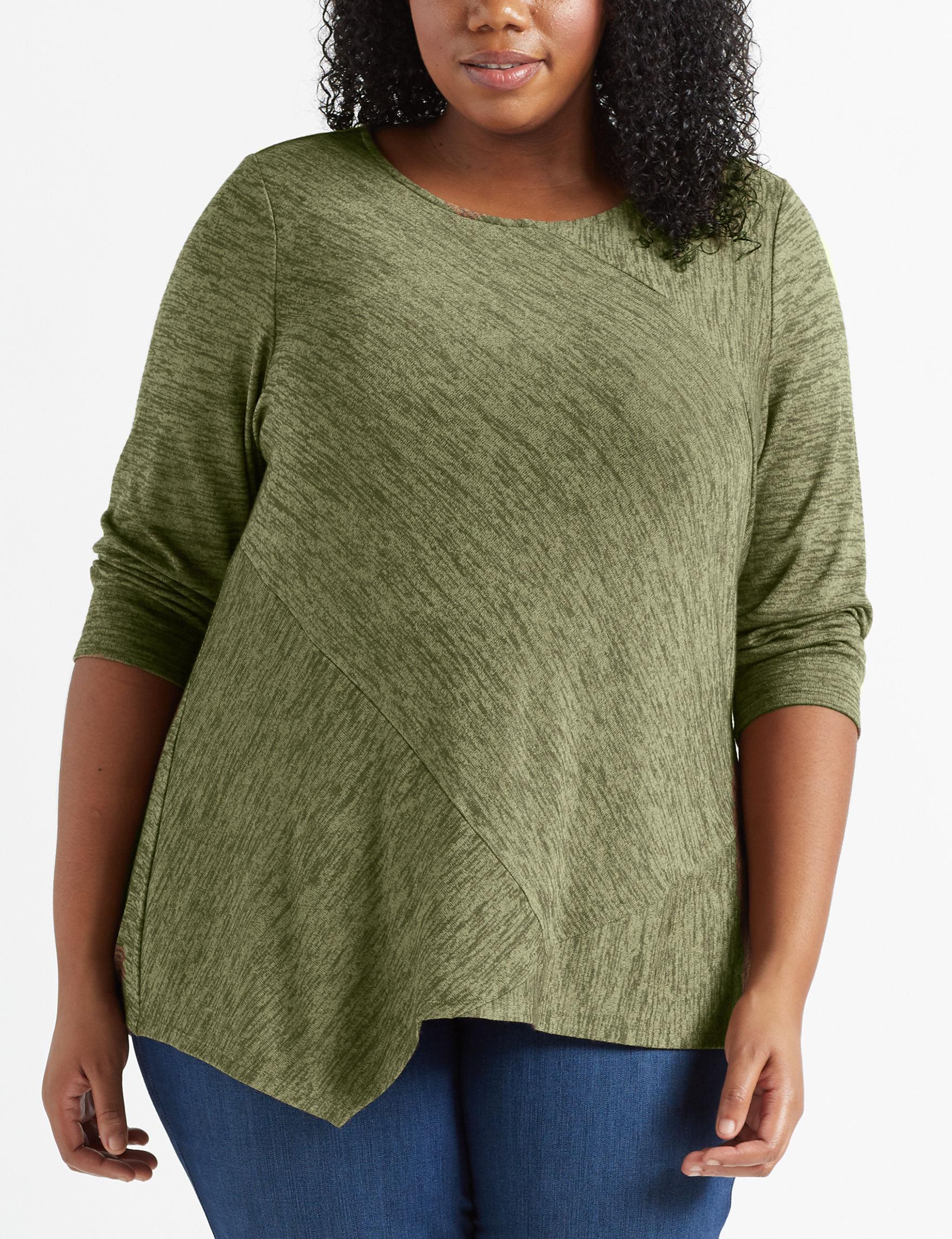 Zac & Rachel Brown Shirts & Blouses