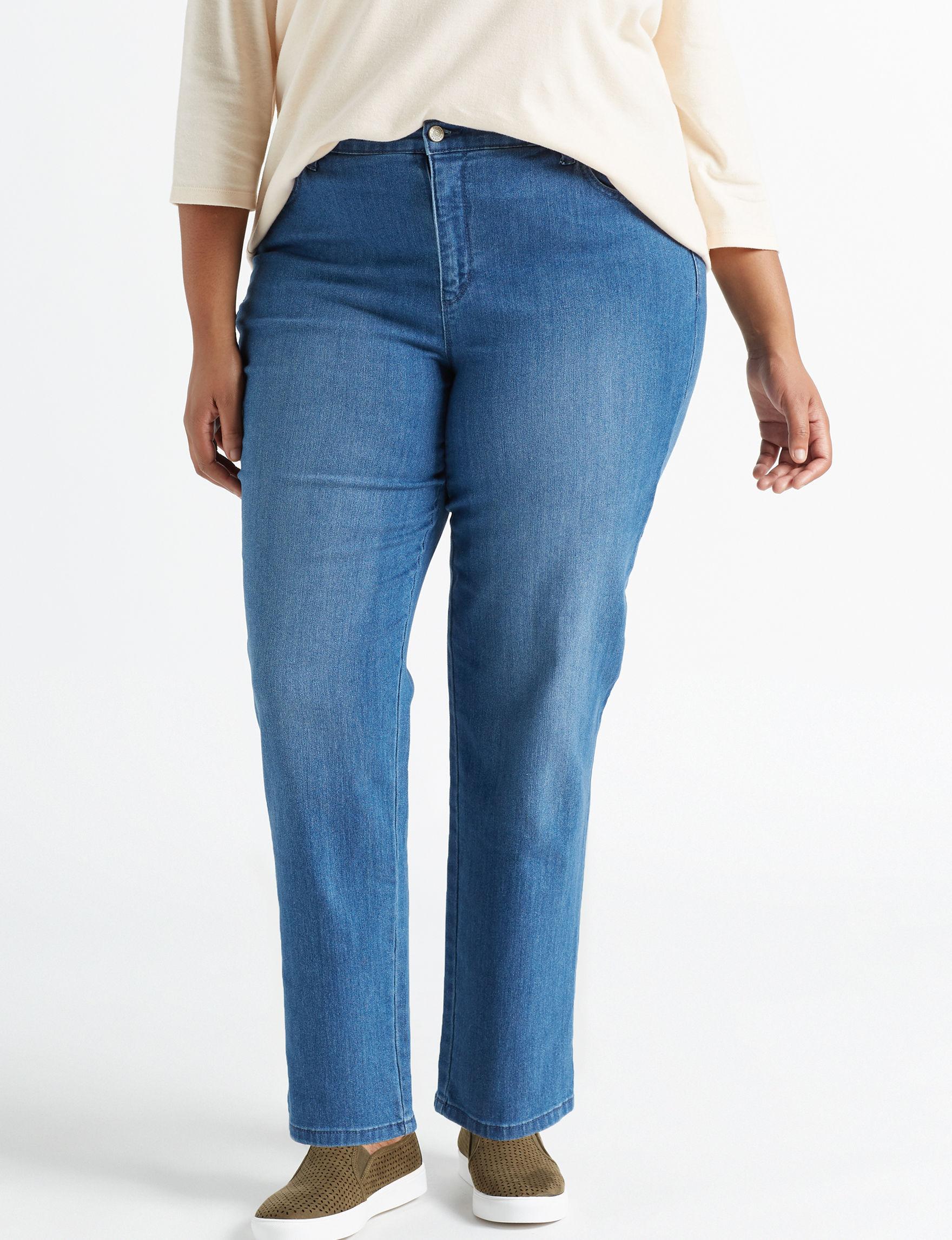 Gloria Vanderbilt Blue Straight