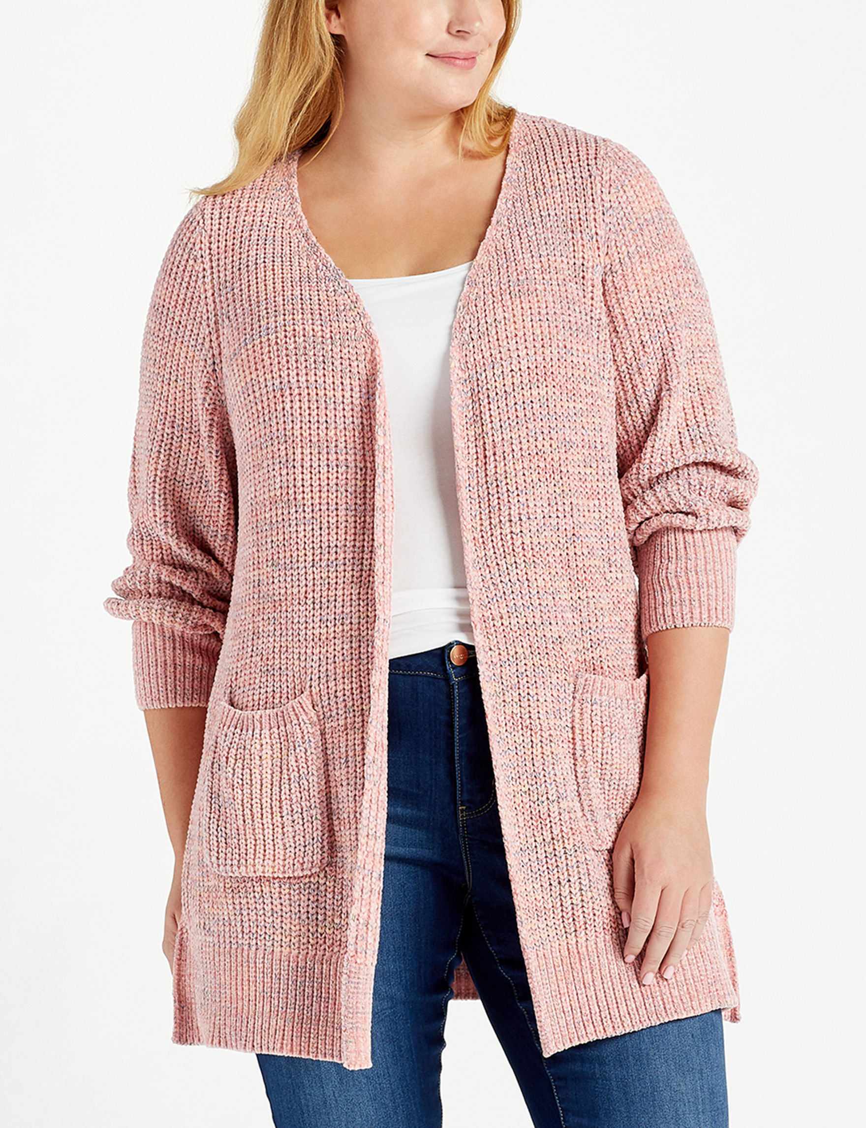 Absolutely Famous Rose Cardigans