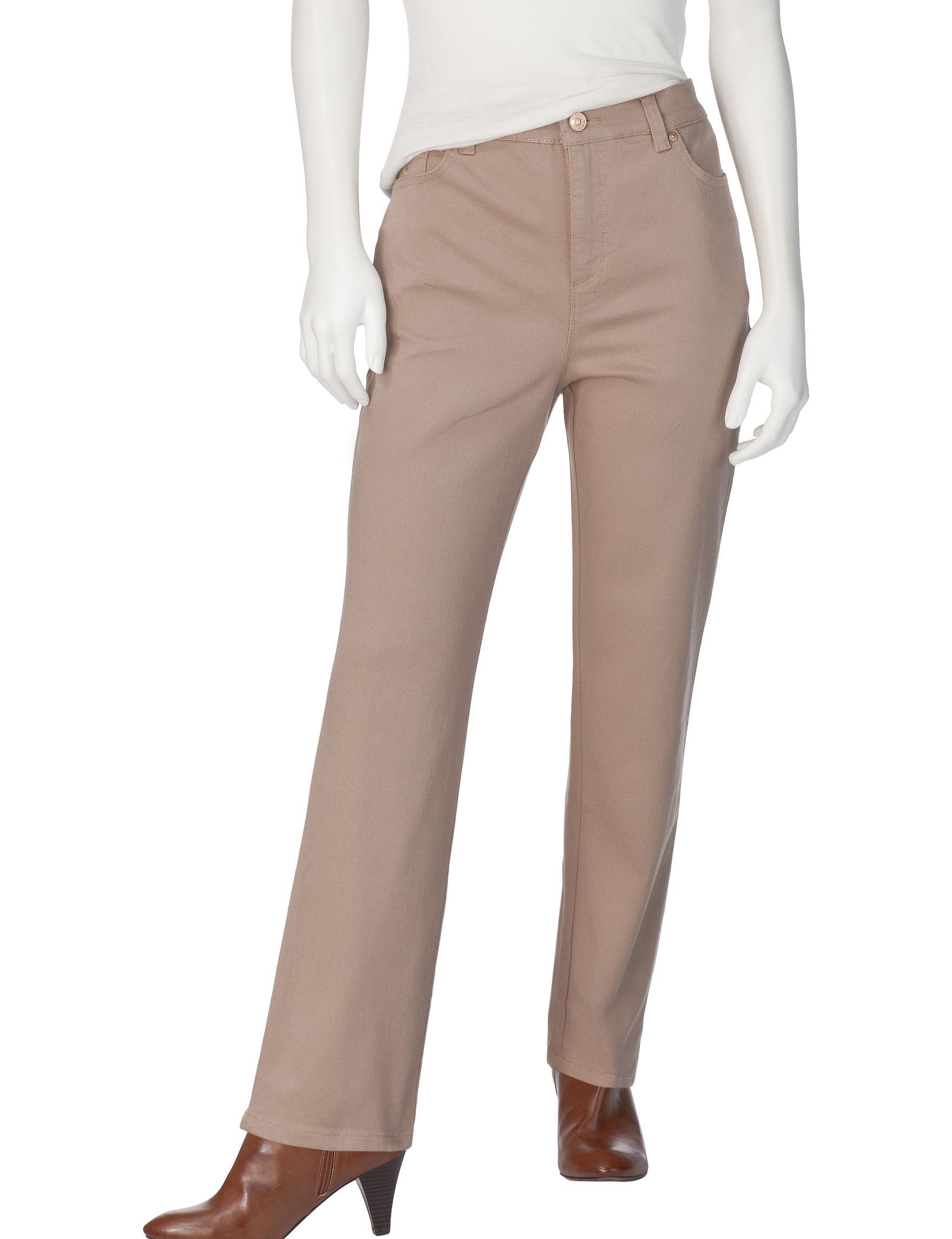 Gloria Vanderbilt Latte Soft Pants