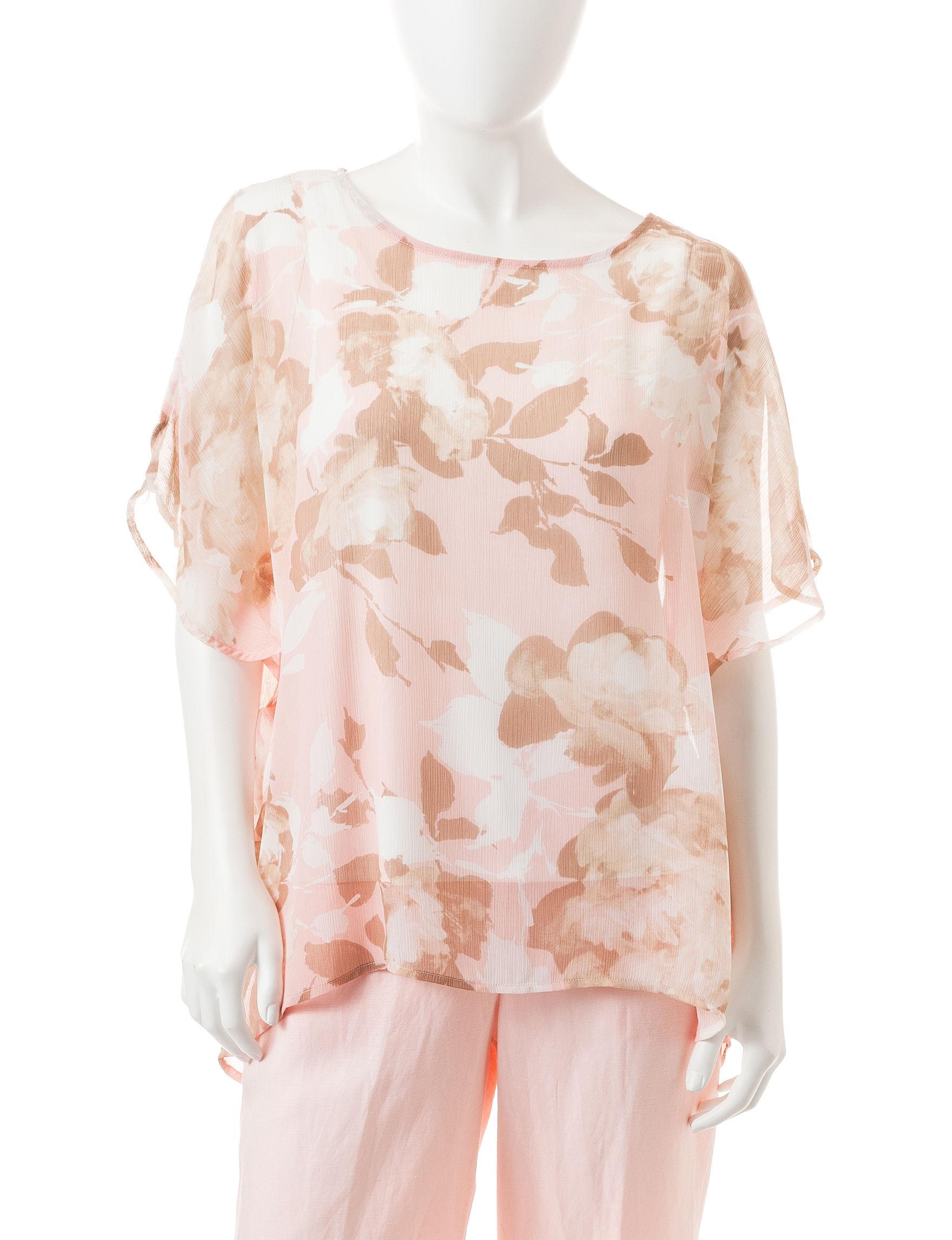 Ruby Road Blush Shirts & Blouses