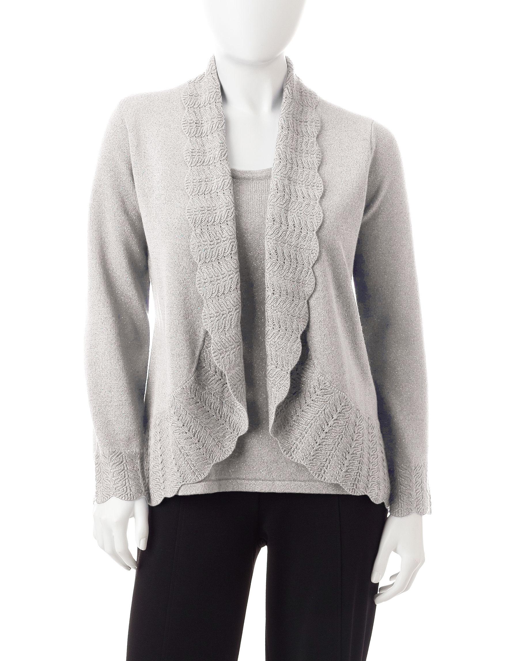 Rebecca Malone Silver Sweaters
