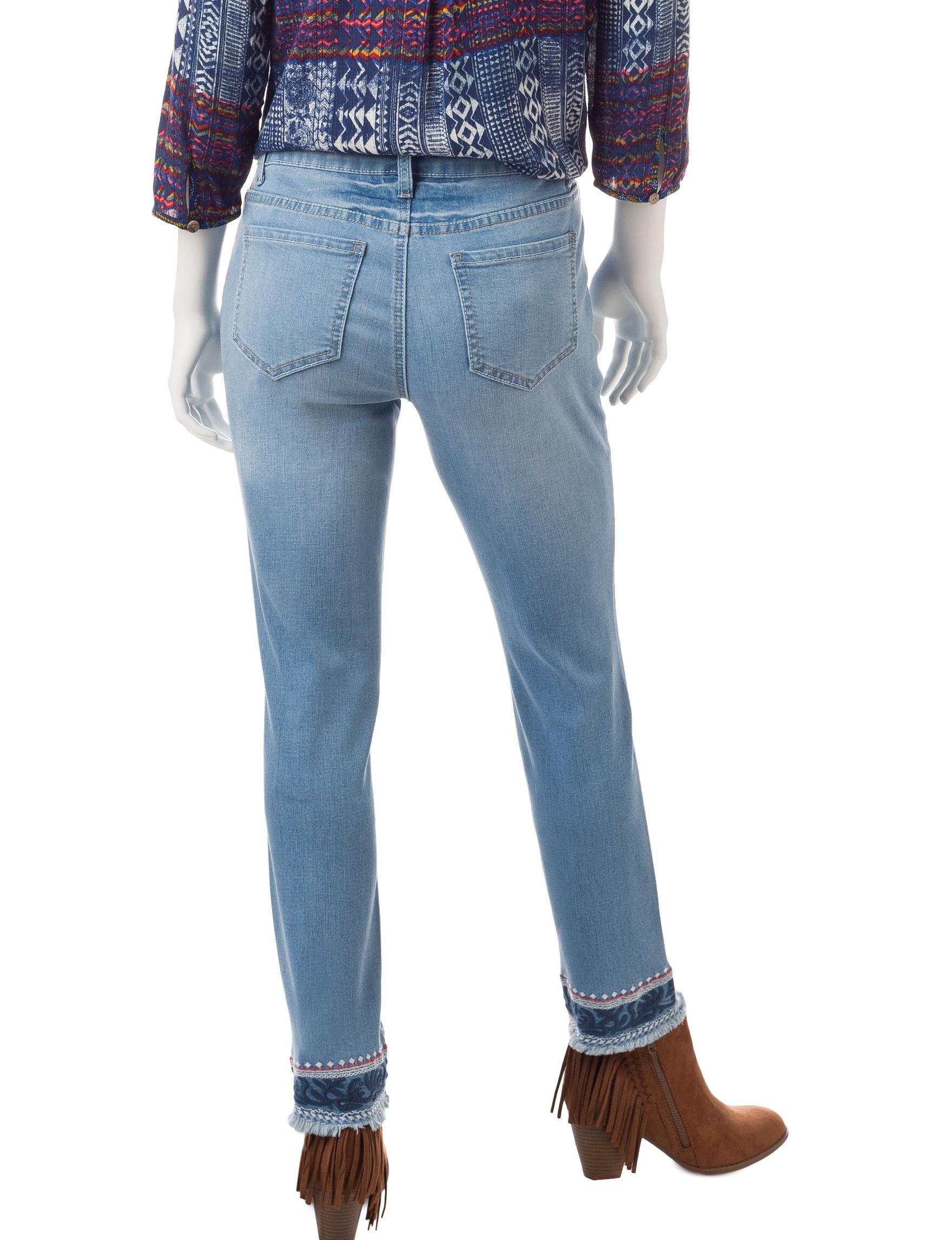 Earl Jean Blue Skinny