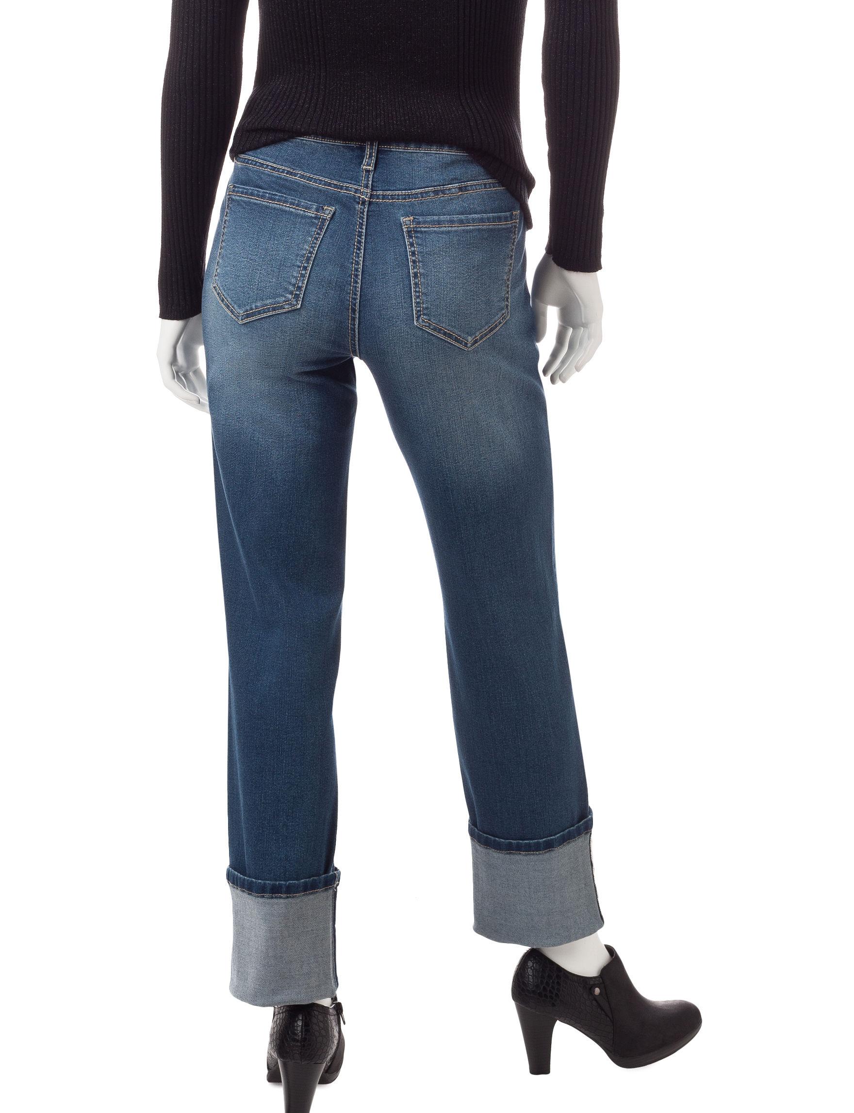 Earl Jean Medium Blue Straight