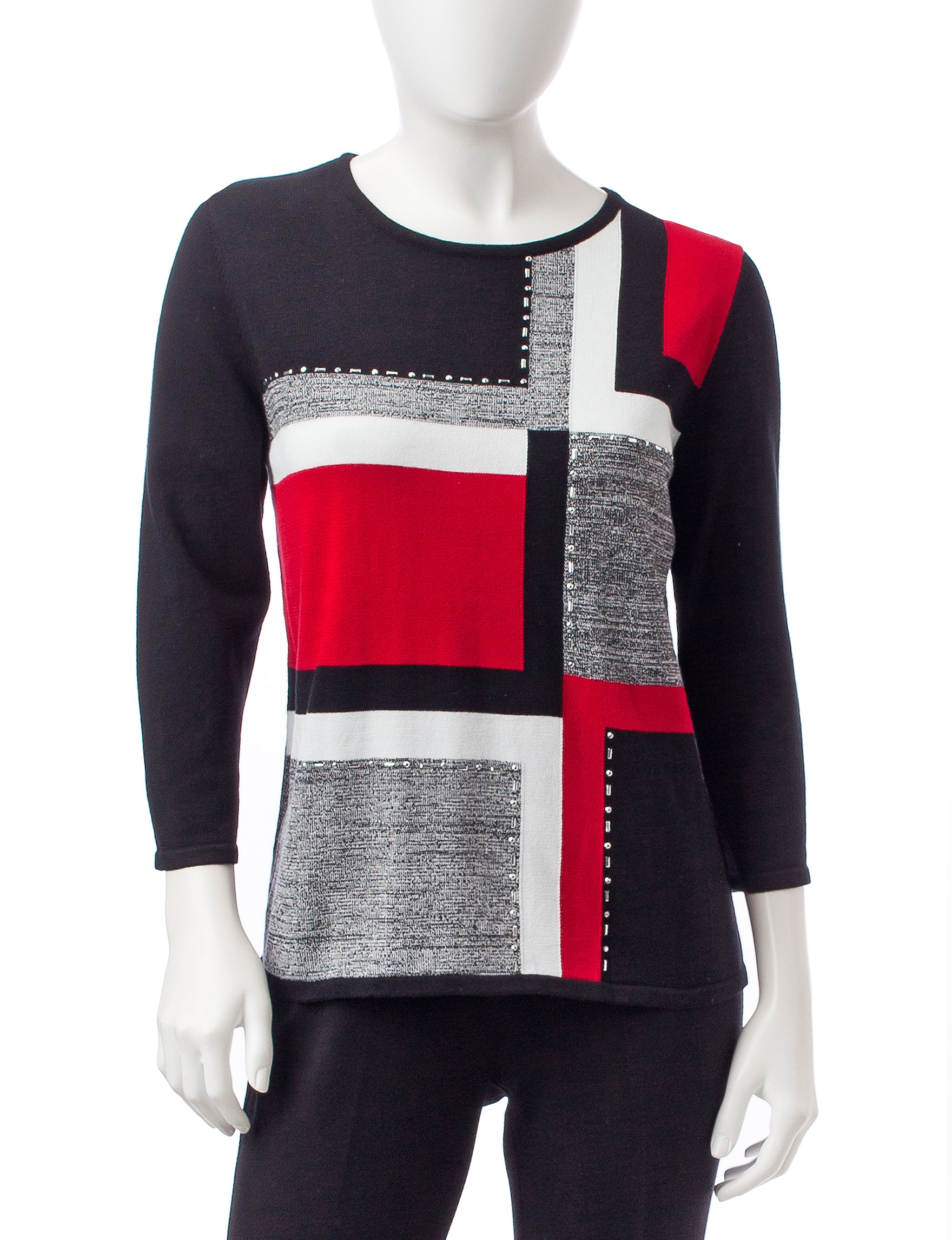 Alfred Dunner Multi Pull-overs