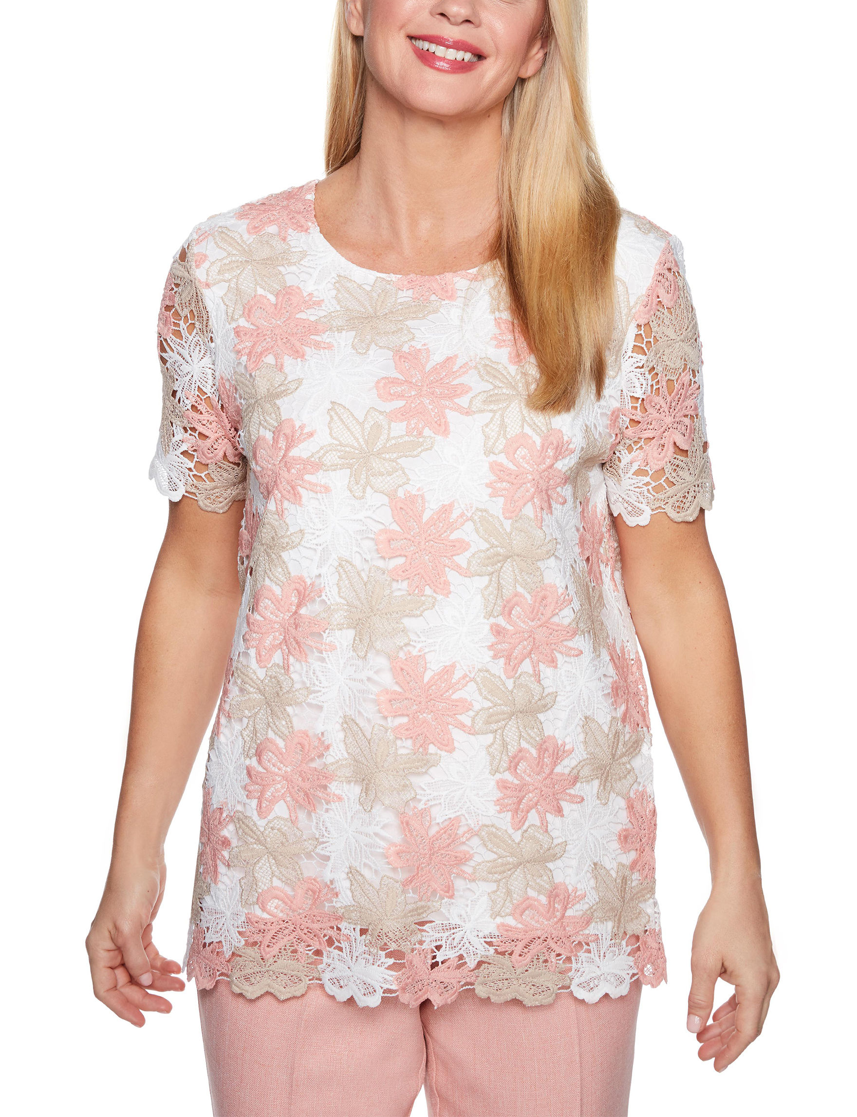 Alfred Dunner White Floral
