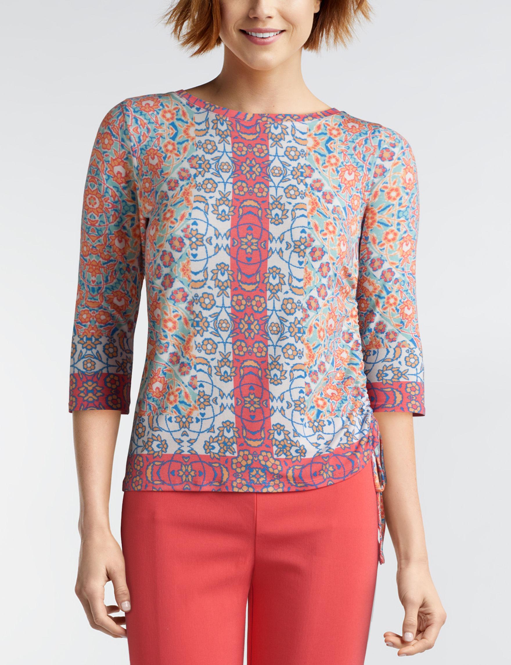 Ruby Road Papaya Shirts & Blouses