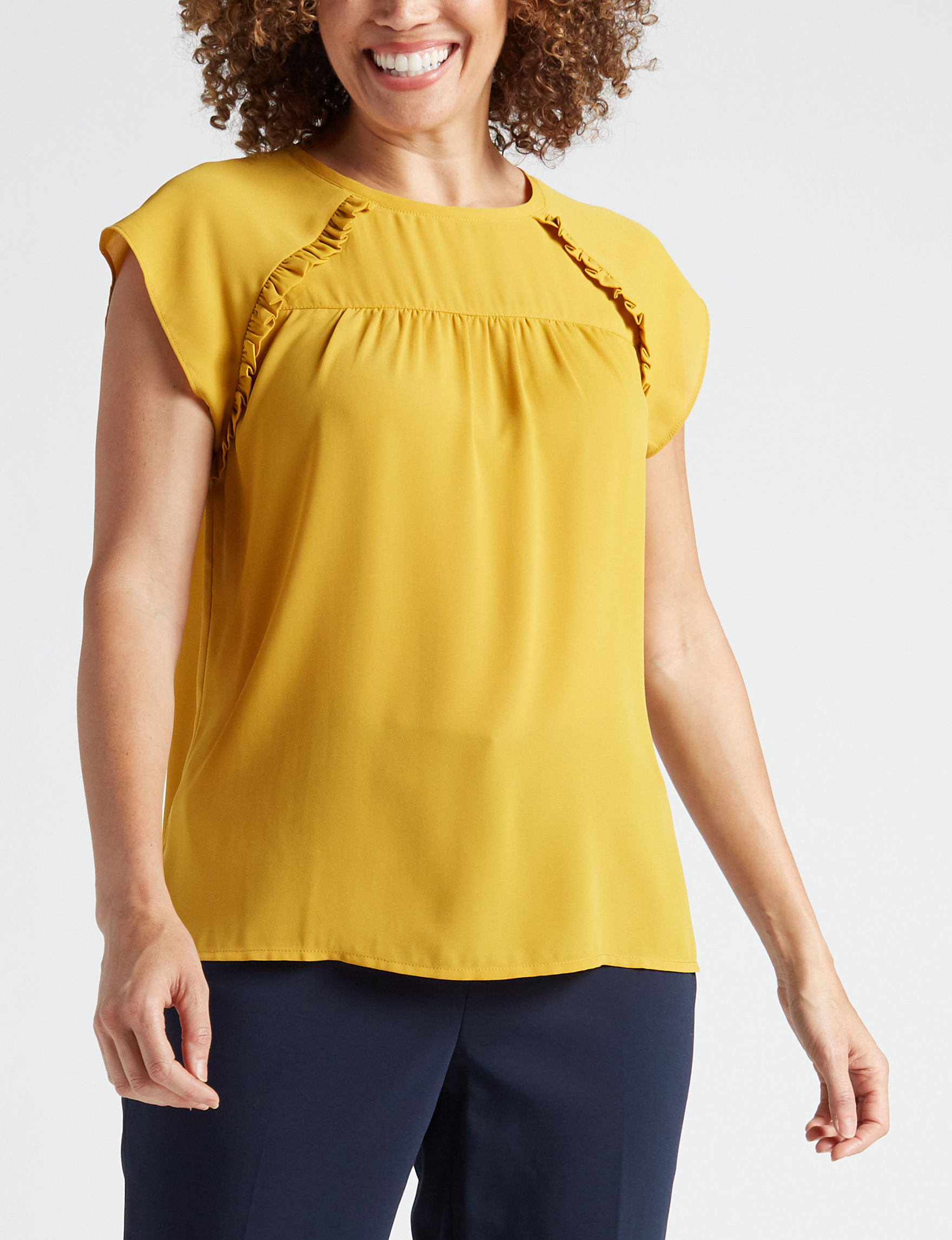 Zac & Rachel Gold Shirts & Blouses