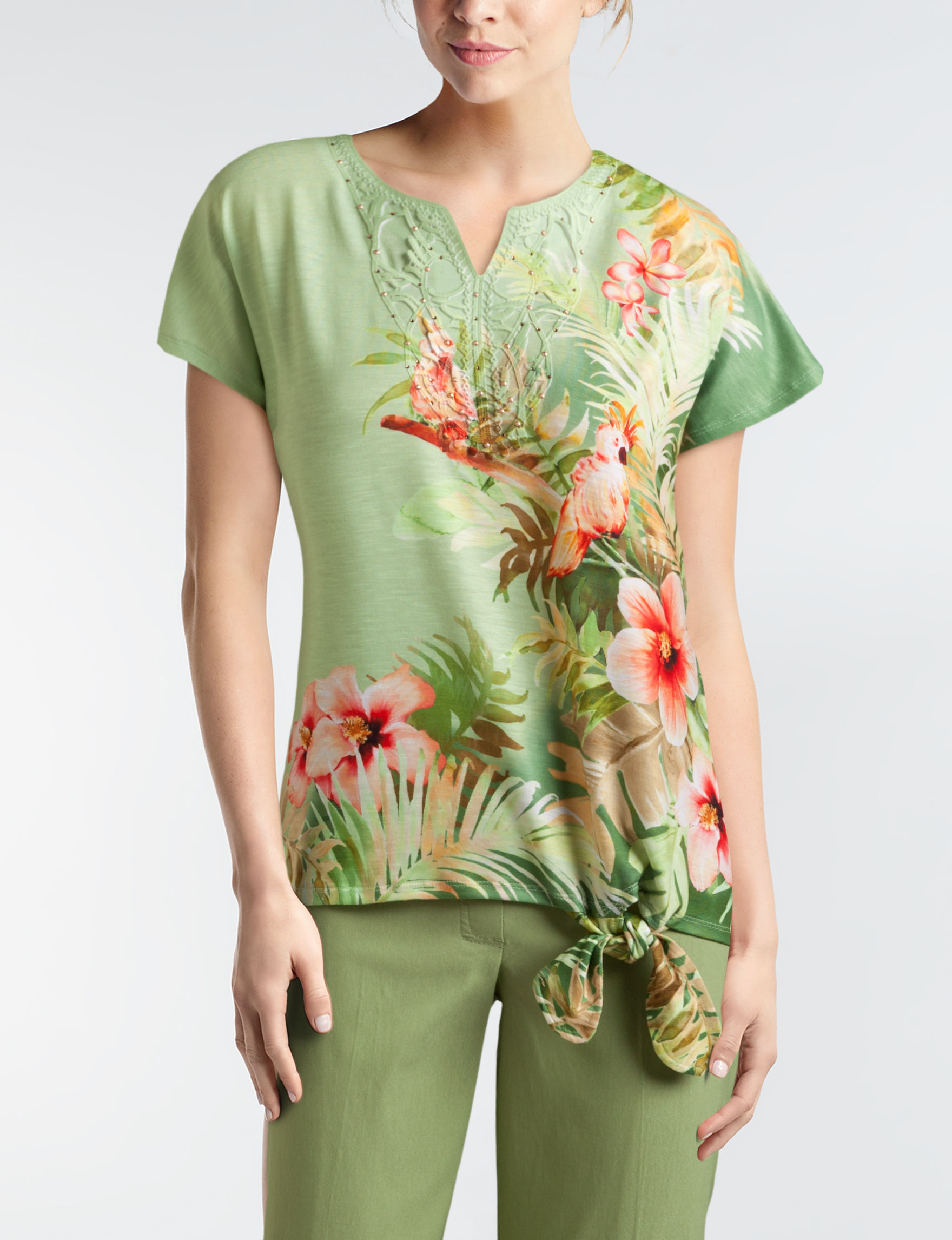 Alfred Dunner Sage Shirts & Blouses