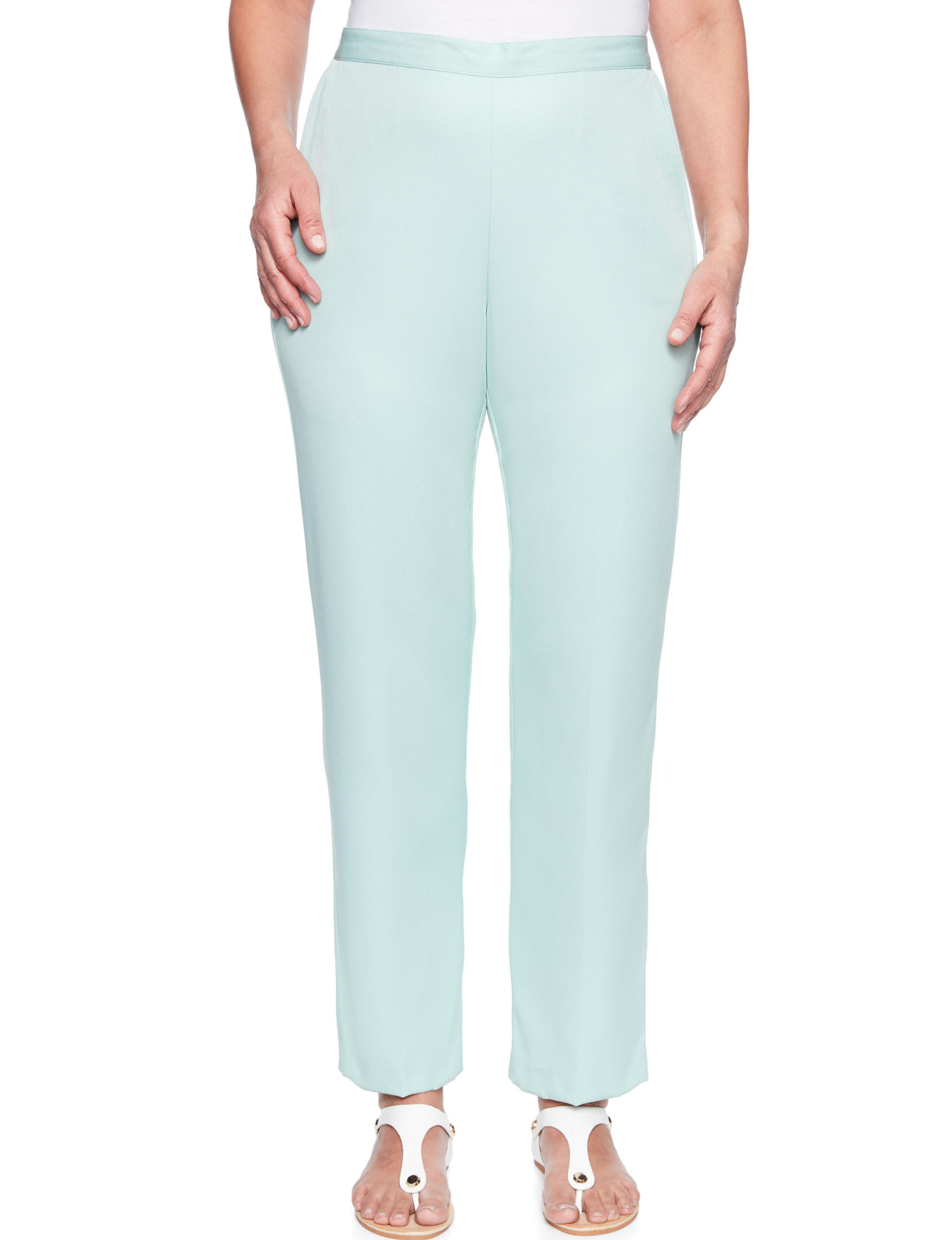 Alfred Dunner Mint Soft Pants