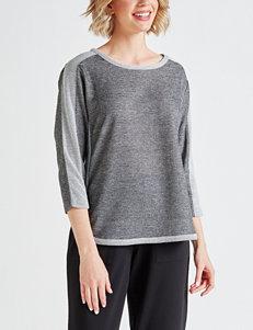 1a5b52ec844 Cathy Daniels Grey Shirts   Blouses