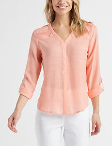3a0025da43ad5 Doorbuster Zac   Rachel Melon Shirts   Blouses
