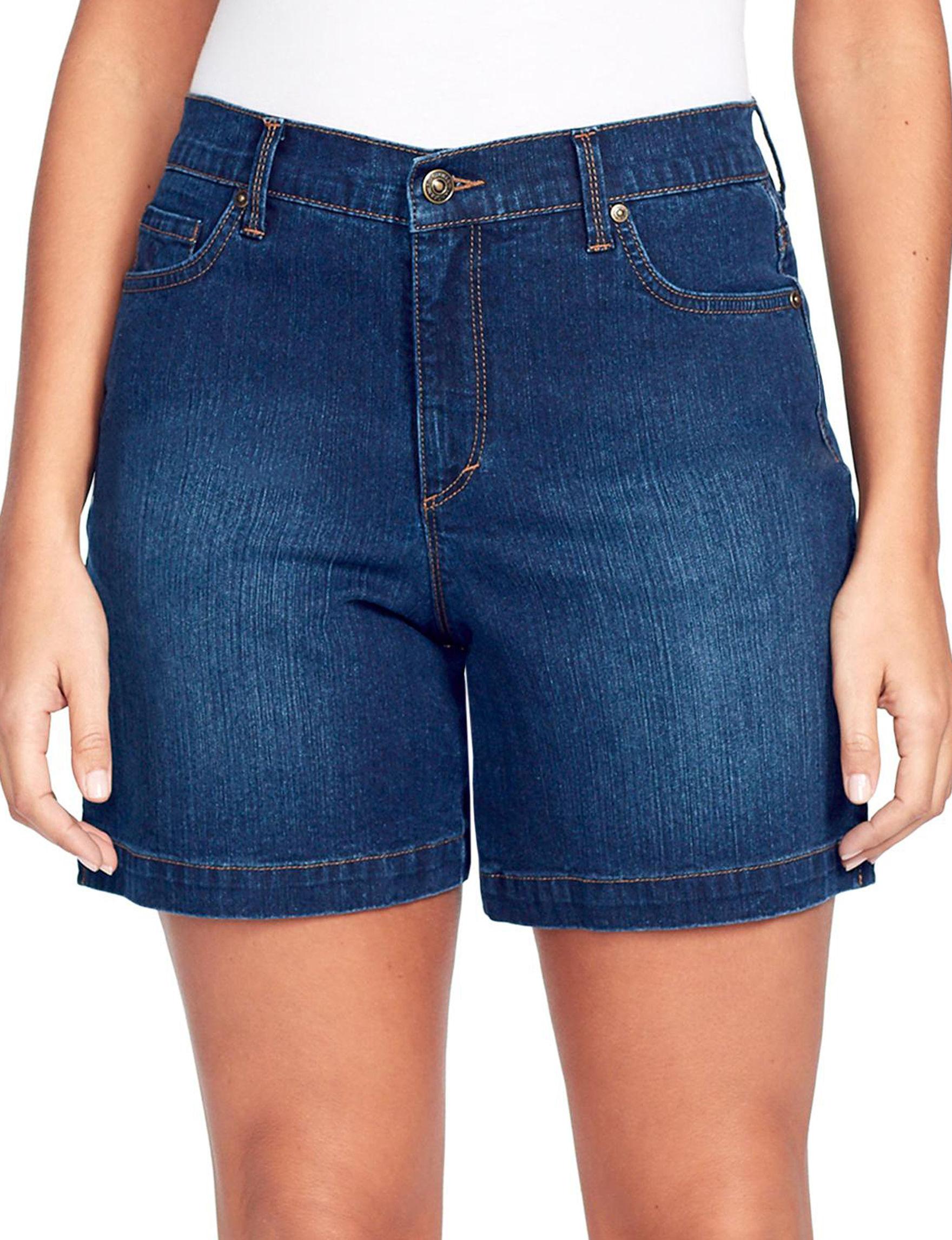 Gloria Vanderbilt Blue Denim Shorts