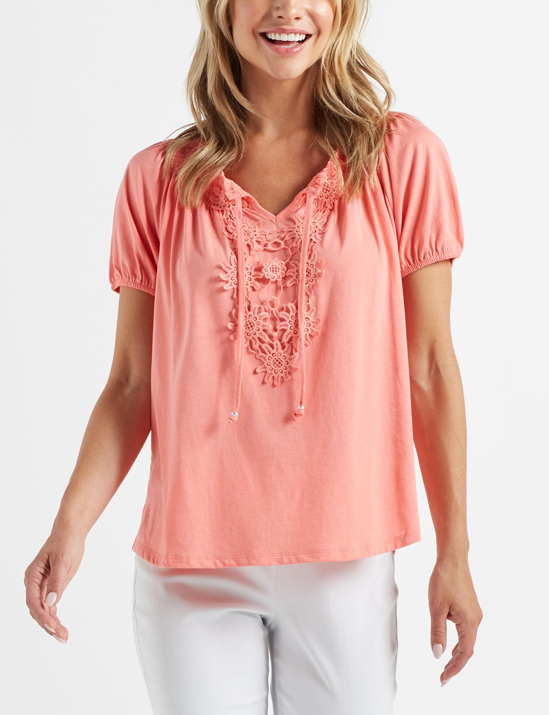 Rebecca Malone Coral Shirts & Blouses